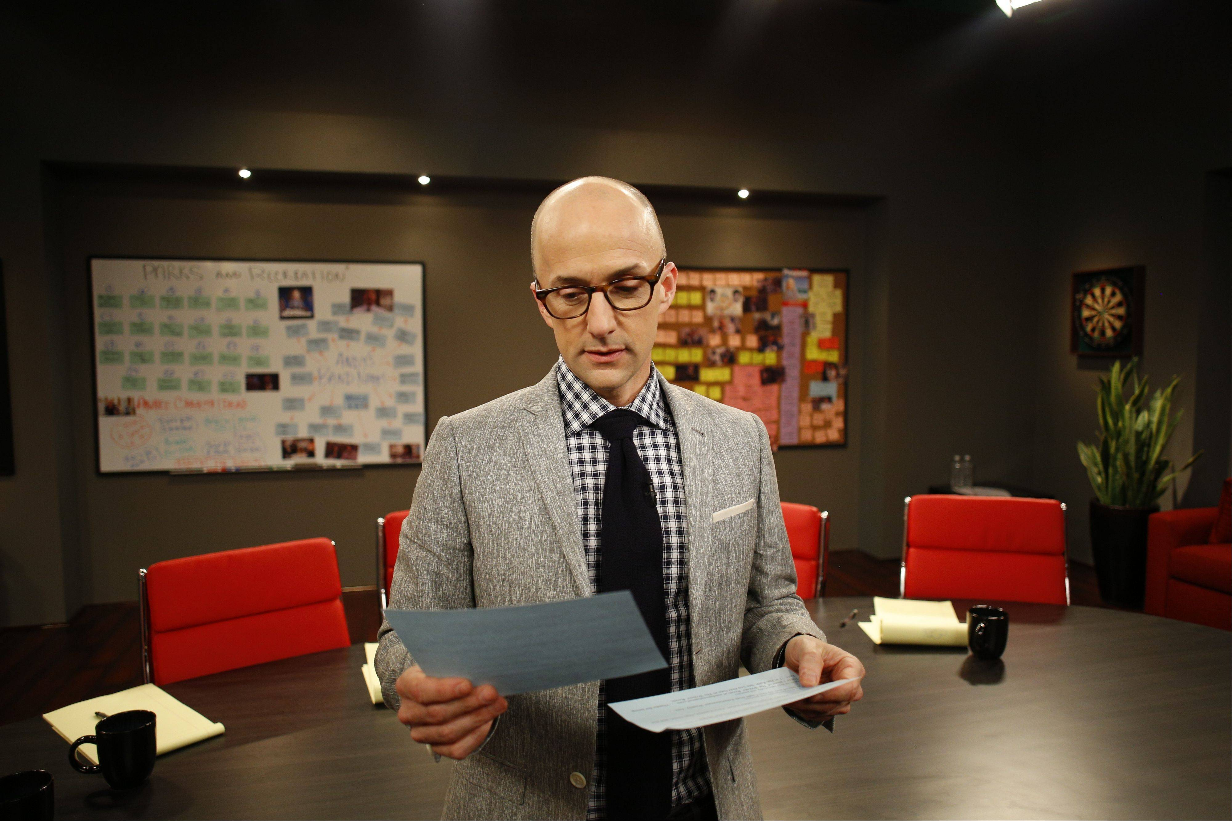 "Jim Rash hosts Sundance Channel's ""The Writers' Room."""