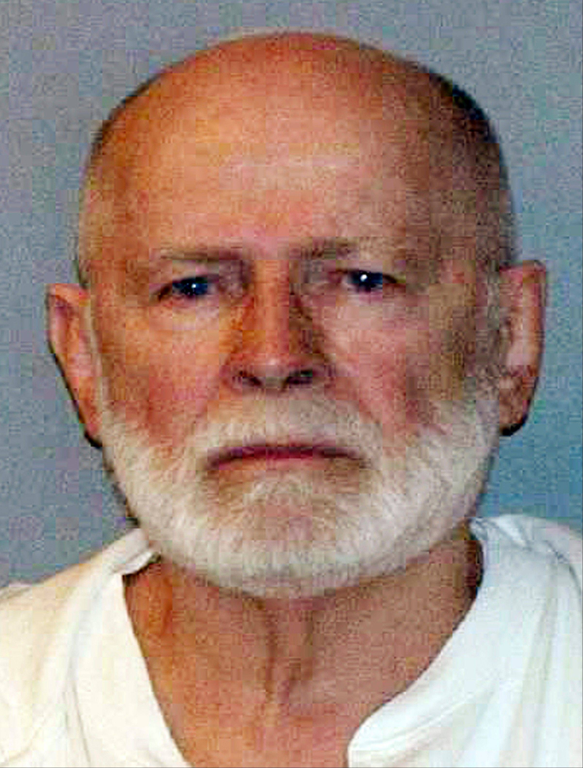 "This June 23, 2011, booking photo provided by the U.S. Marshals Service shows James ""Whitey"" Bulger, one of the FBI's Ten Most Wanted fugitives, captured in Santa Monica, Calif., after 16 years on the run."