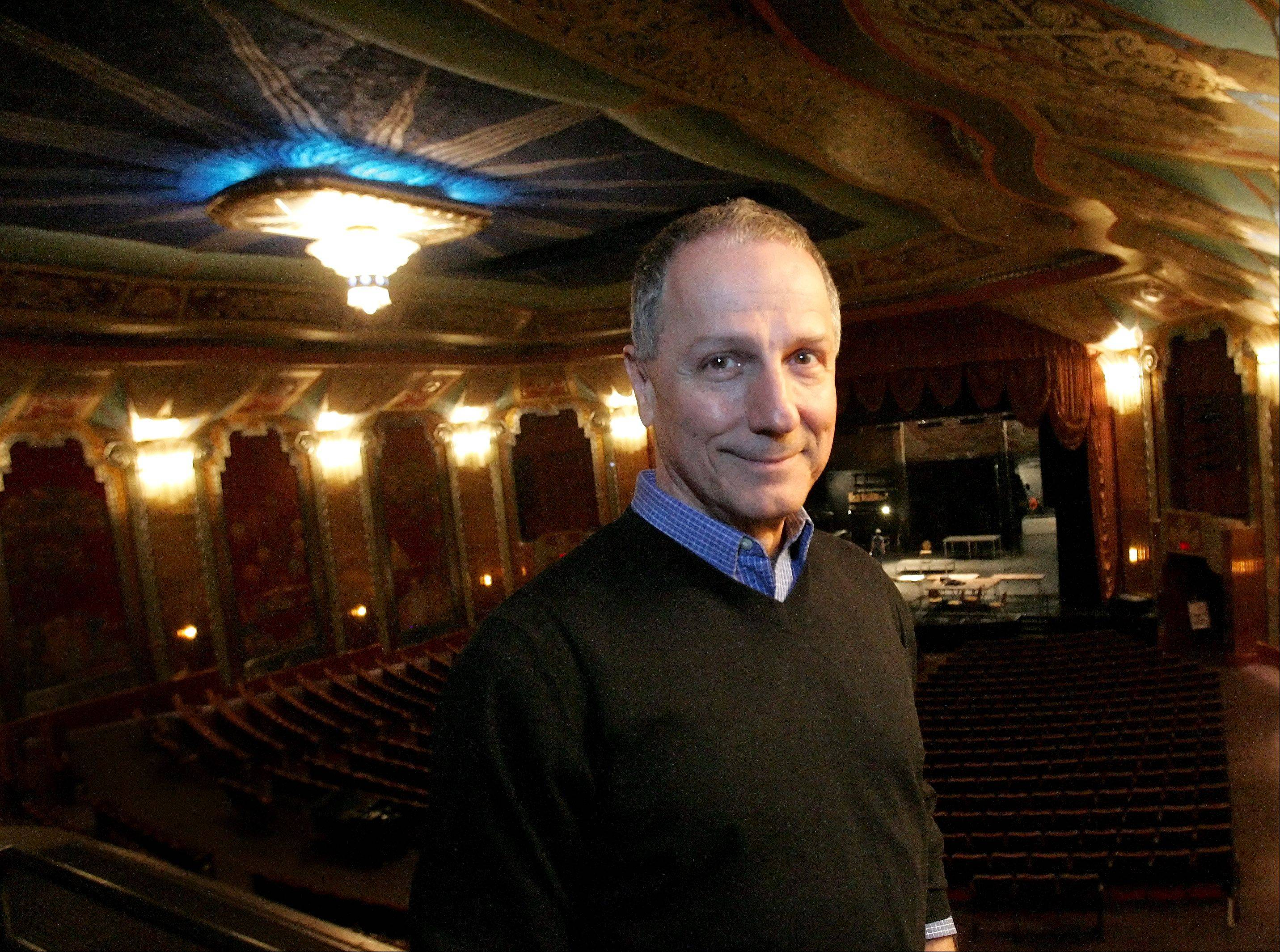 Jim Corti, artistic director at Aurora's Paramount Theatre, will be one of the judges at the Aurora Public Library Teen Talent Show.