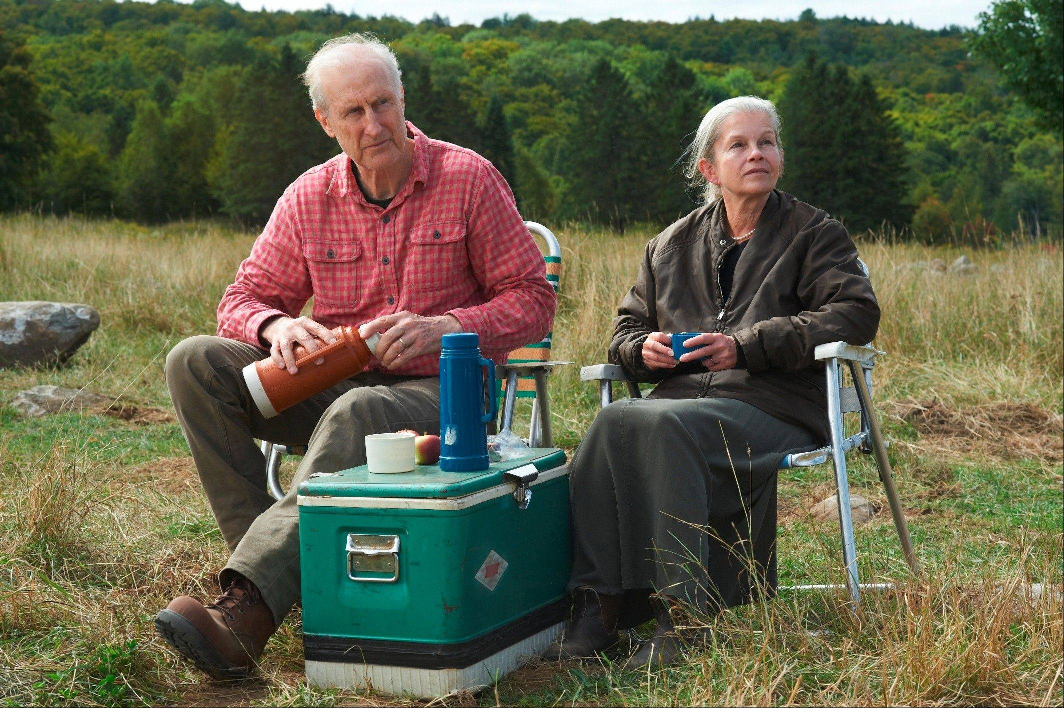 "Craig (James Cromwell) and wife Irene (Genevieve Bujold) faces the challenges of growing old in ""Still Mine."""
