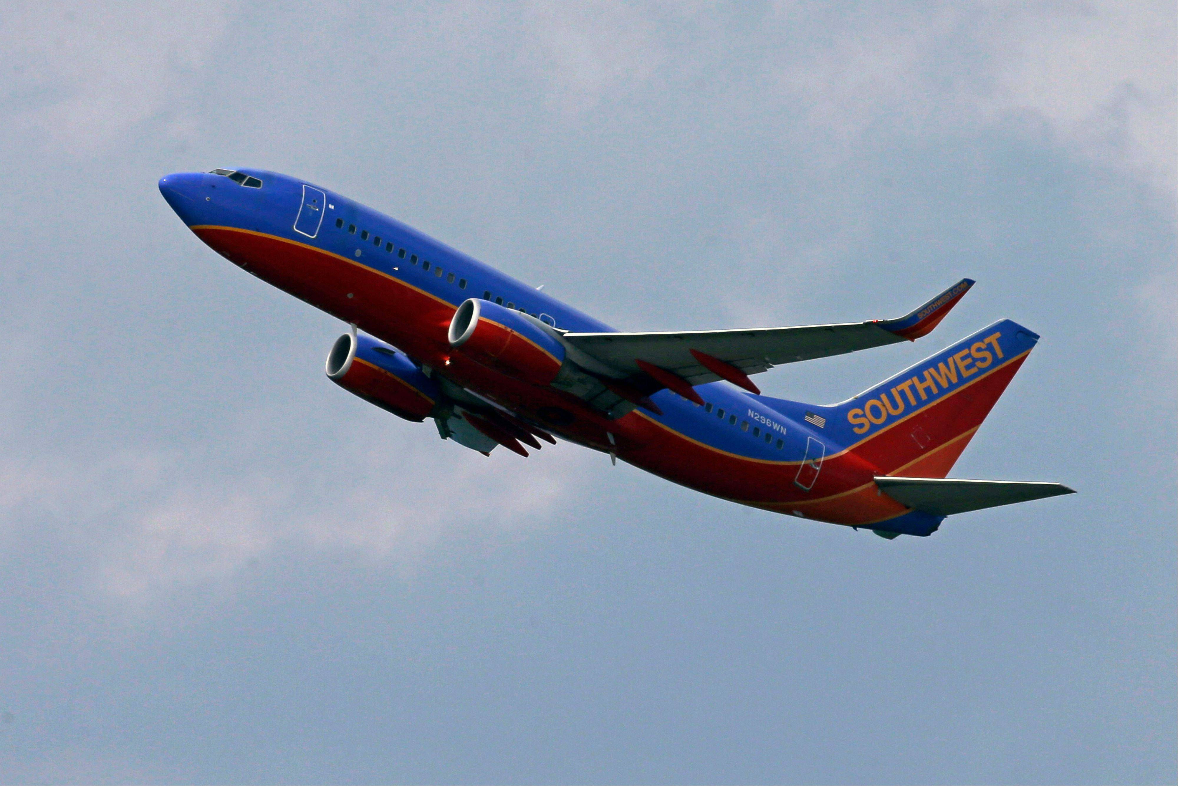 Southwest Airlines is getting a small break at the fuel pump, and that's helping it beat Wall Street expectations for profit.The airline said Thursday that net income in the second quarter was $224 million, or 31 cents per share.
