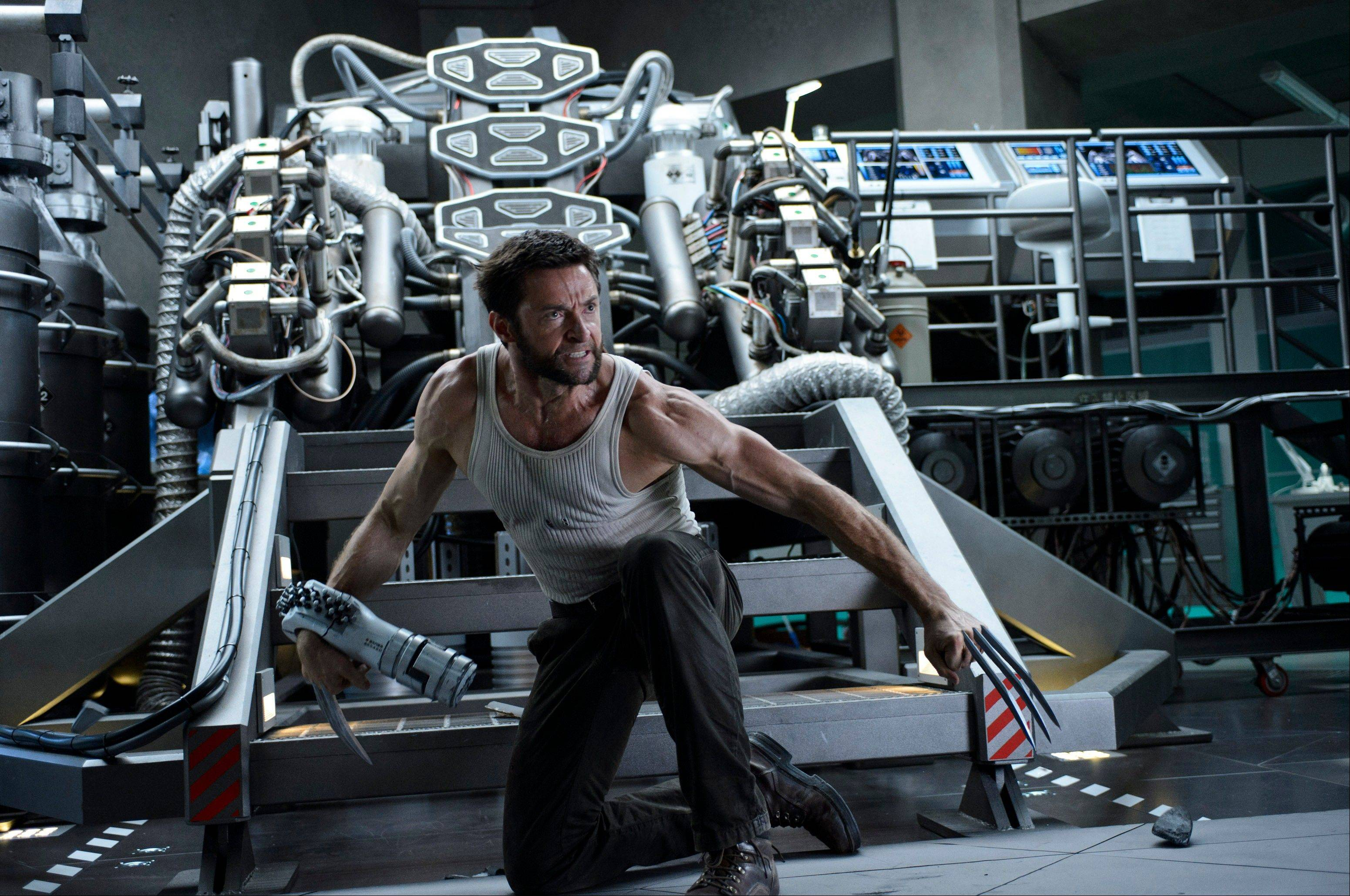 "Mutant Logan (Hugh Jackman) faces new challenges in ""The Wolverine."""
