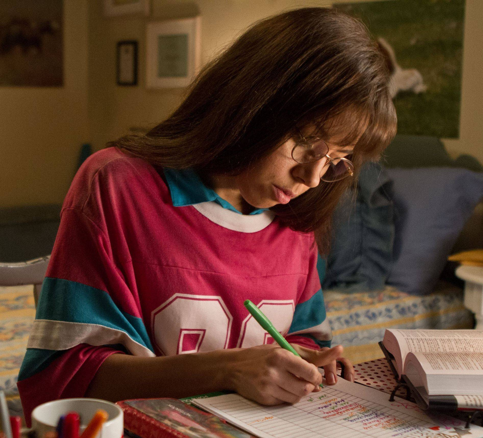 "Brandy Klark (Aubrey Plaza) decides to shed her good-girl image before heading to college in ""The To Do List."""
