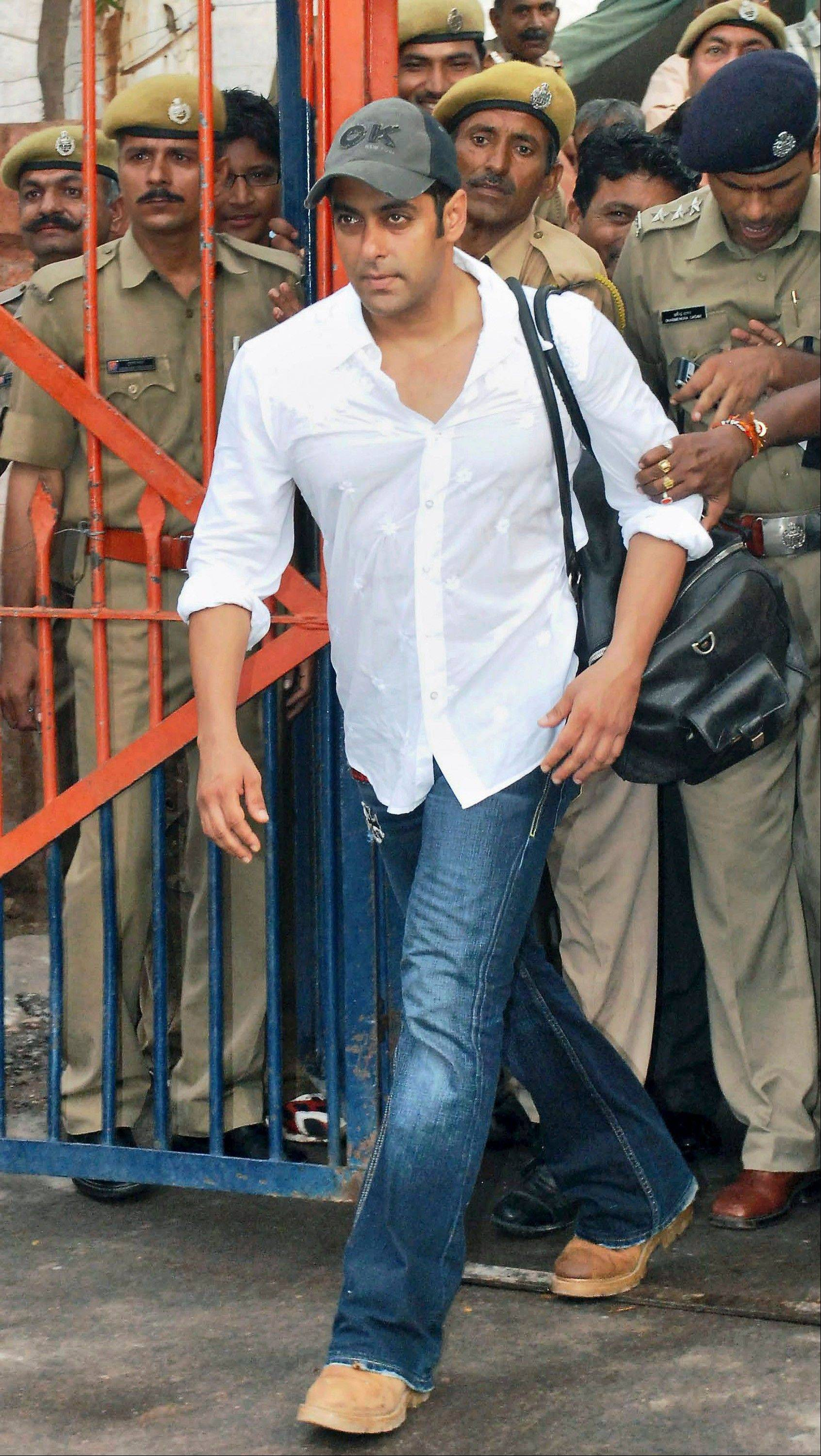 A Mumbai court has ruled Wednesday that Indian movie star Salman Khan will face trial on charges of homicide for his alleged involvement in a fatal road accident more than 10 years ago.
