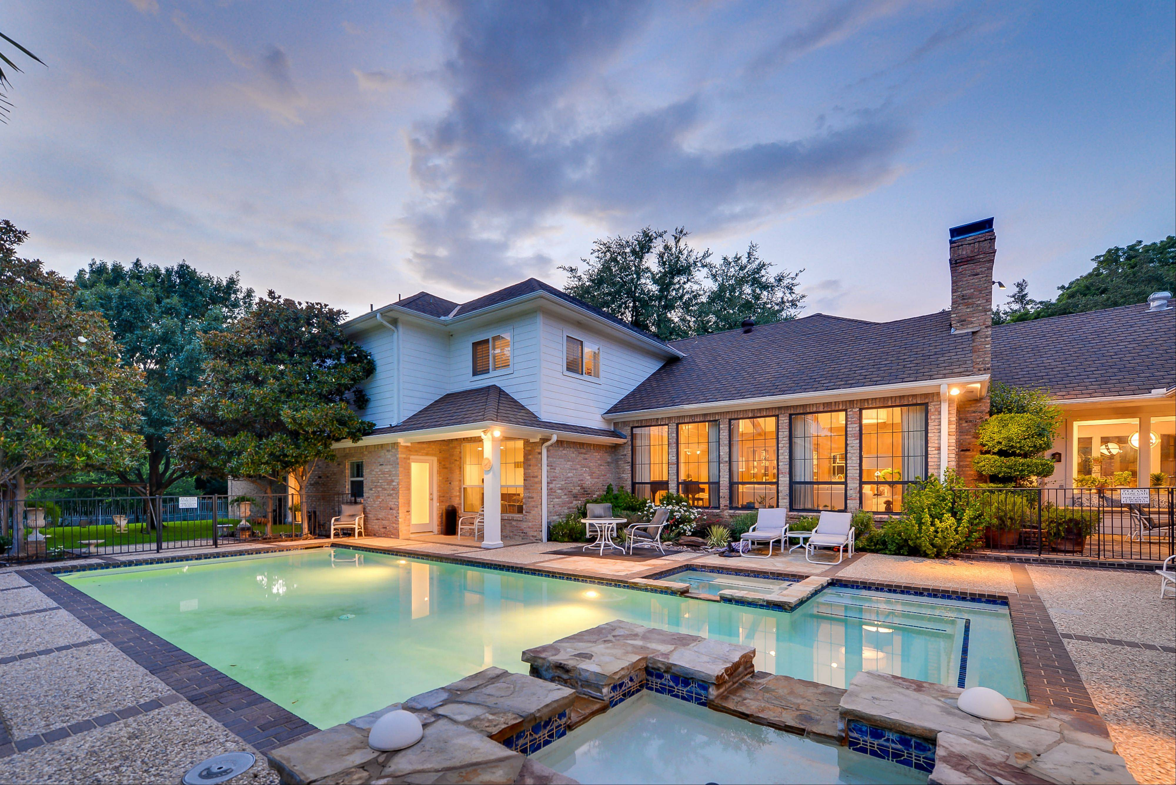 "The home featured as Texas Ranger Cordell Walker's house from the former television series ""Walker, Texas Ranger"" is on the market for $1.2 million. The seven-bathroom and four-bedroom has been extensively renovated since the show ended in 2001."
