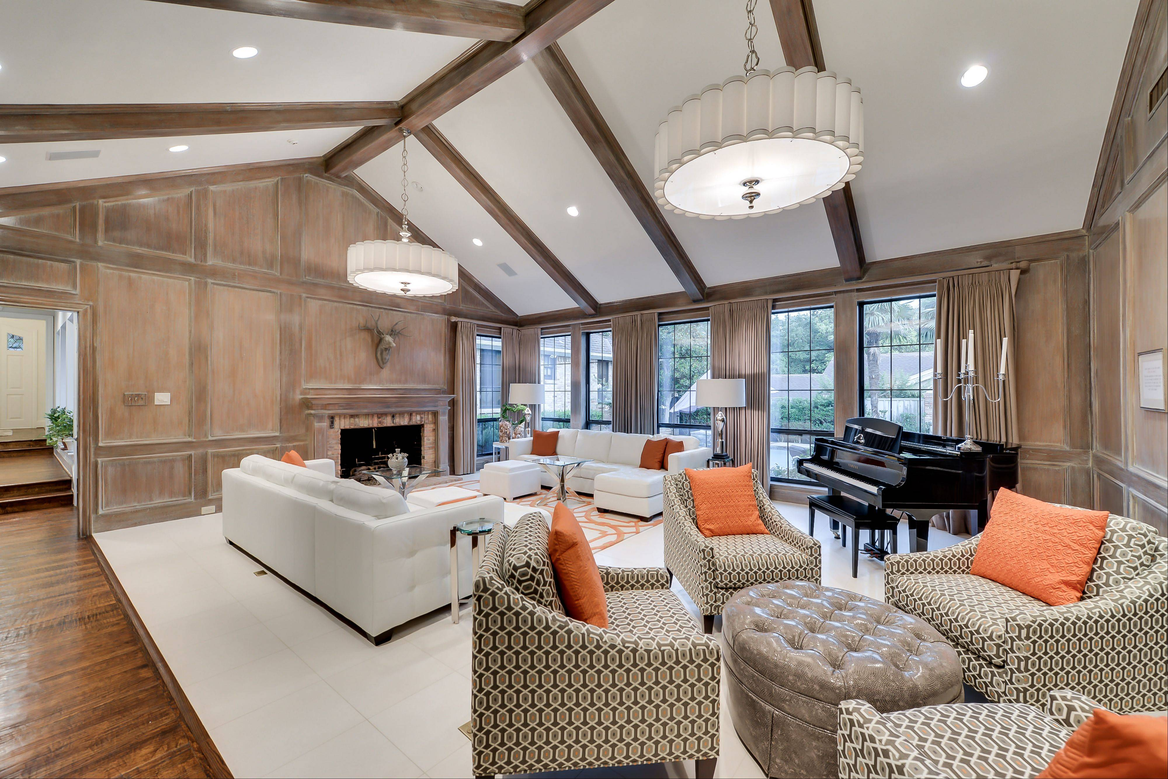 "Chuck Norris' spacious Dallas home, complete with a gym featuring memorabilia from his ""Walker, Texas Ranger"" television series, is on the market."