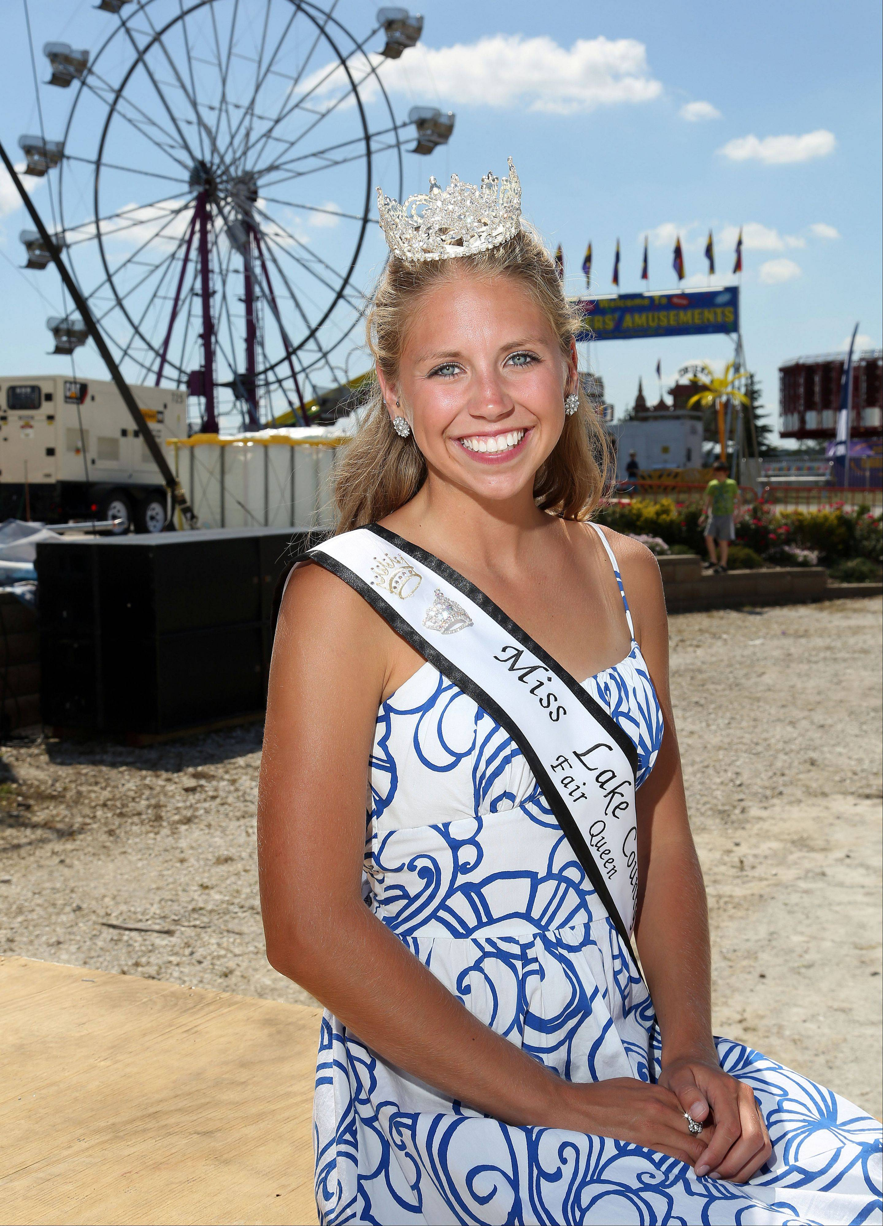 Meghan Opolka of Antioch is the 2013 Miss Lake County Fair Queen.