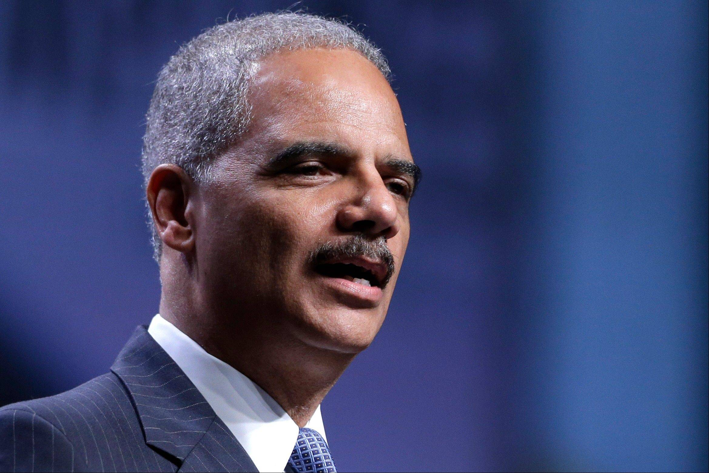 Attorney General Eric Holder speaks at the National Urban League annual conference Thursday in Philadelphia. Holder said the Justice Department is opening a new front in the battle for voting rights in response to a Supreme Court ruling that dealt a major setback to voter protections.