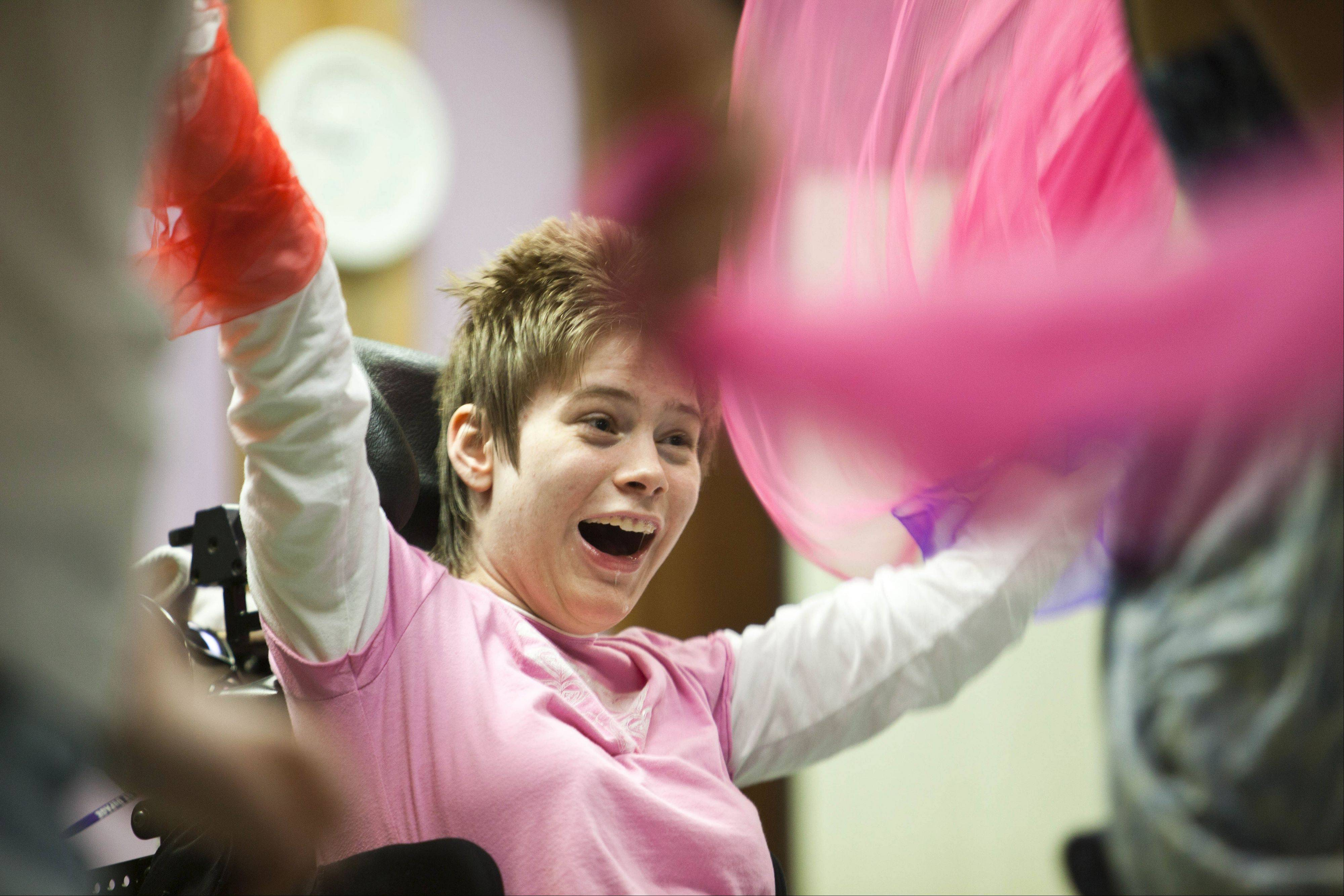 Artful Impact's Spectrum programs explore freedom of movement and expression for young people with special needs.