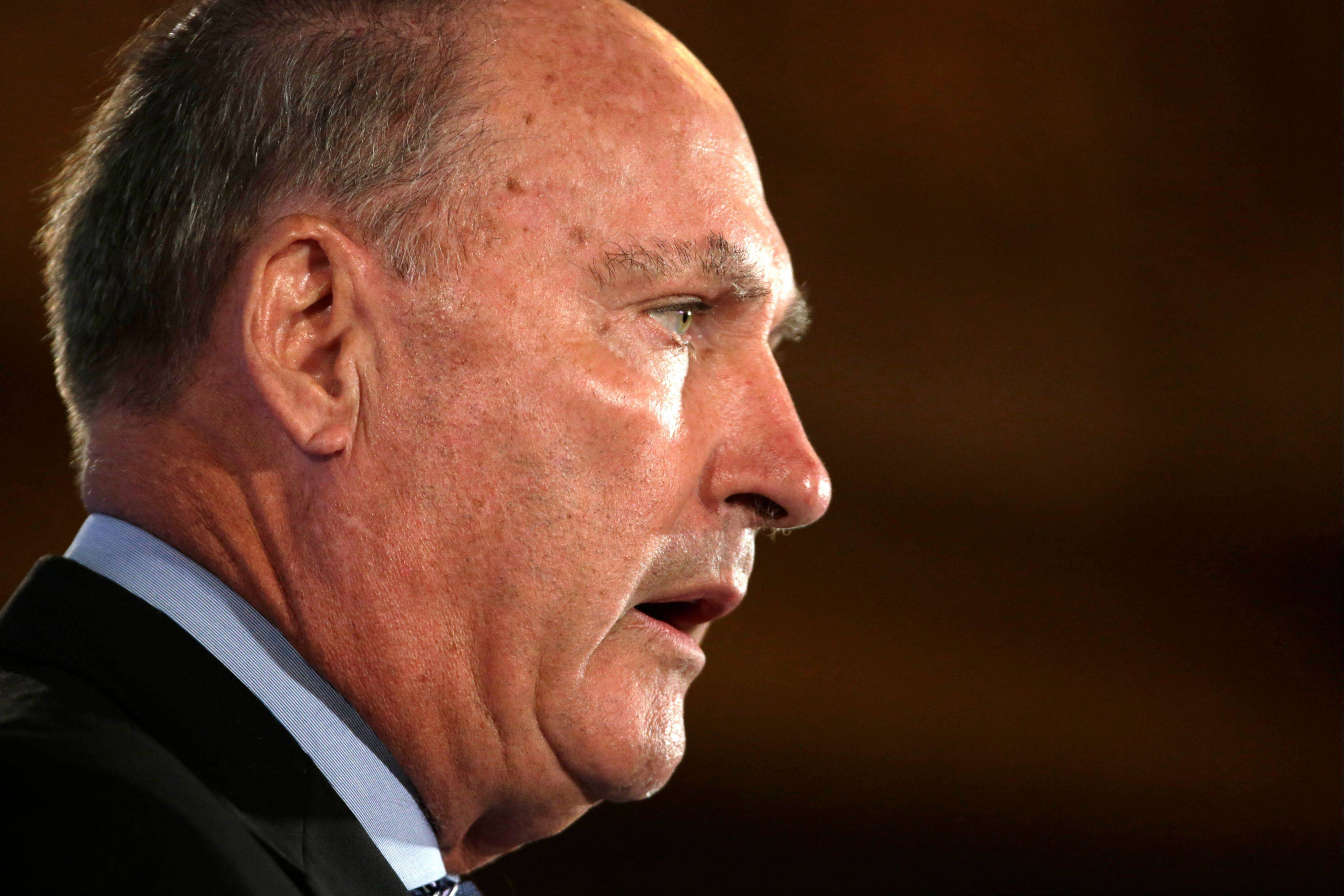 Big Ten Commissioner Jim Delany, speaking at the Big Ten football media conference in Chicago, joined the chorus of major conference commissioners calling for a new model when it comes to the governing body of college athletics.