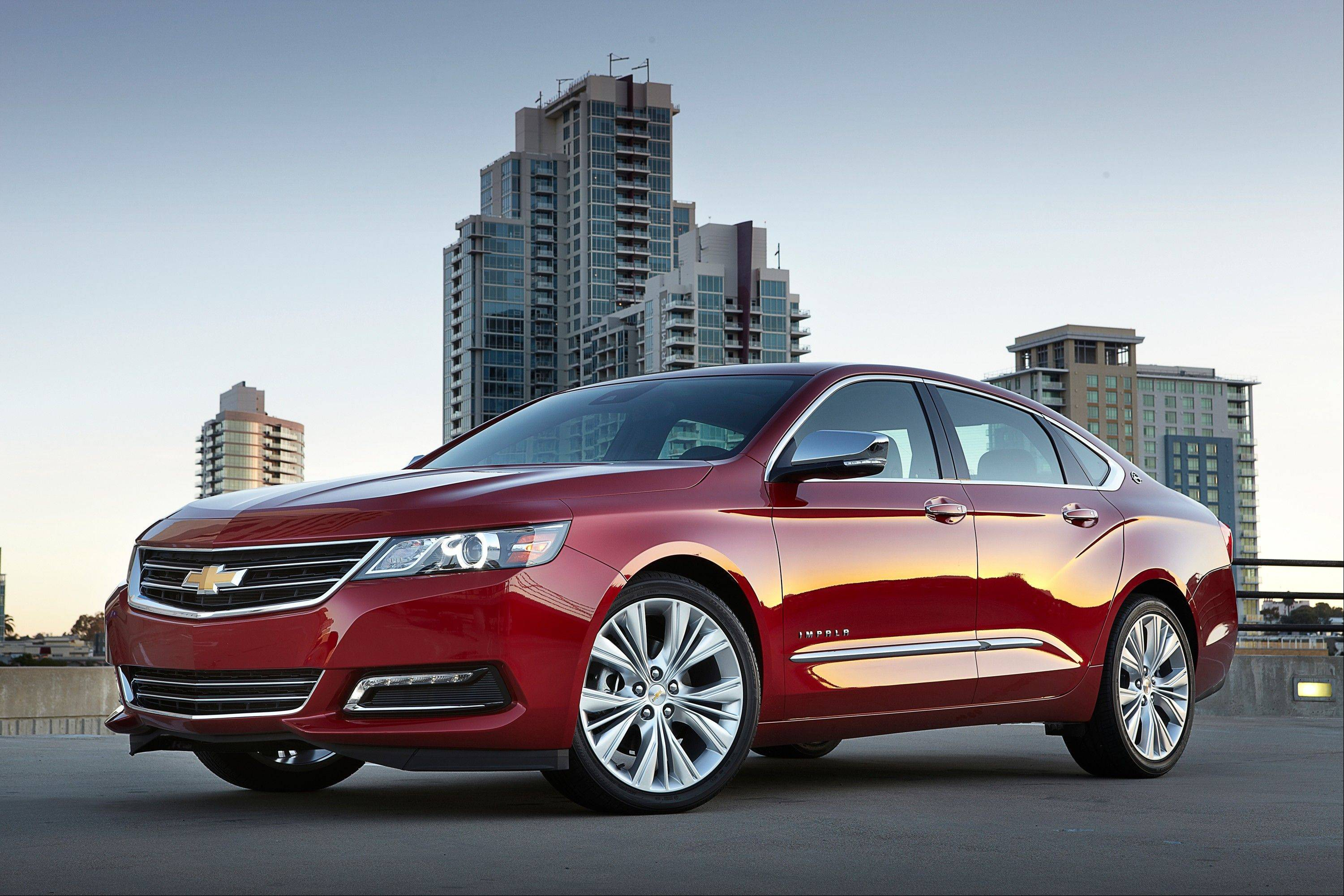 The first American sedan in 20 years to earn Consumer Reports' top score is the Chevrolet Impala. Really.