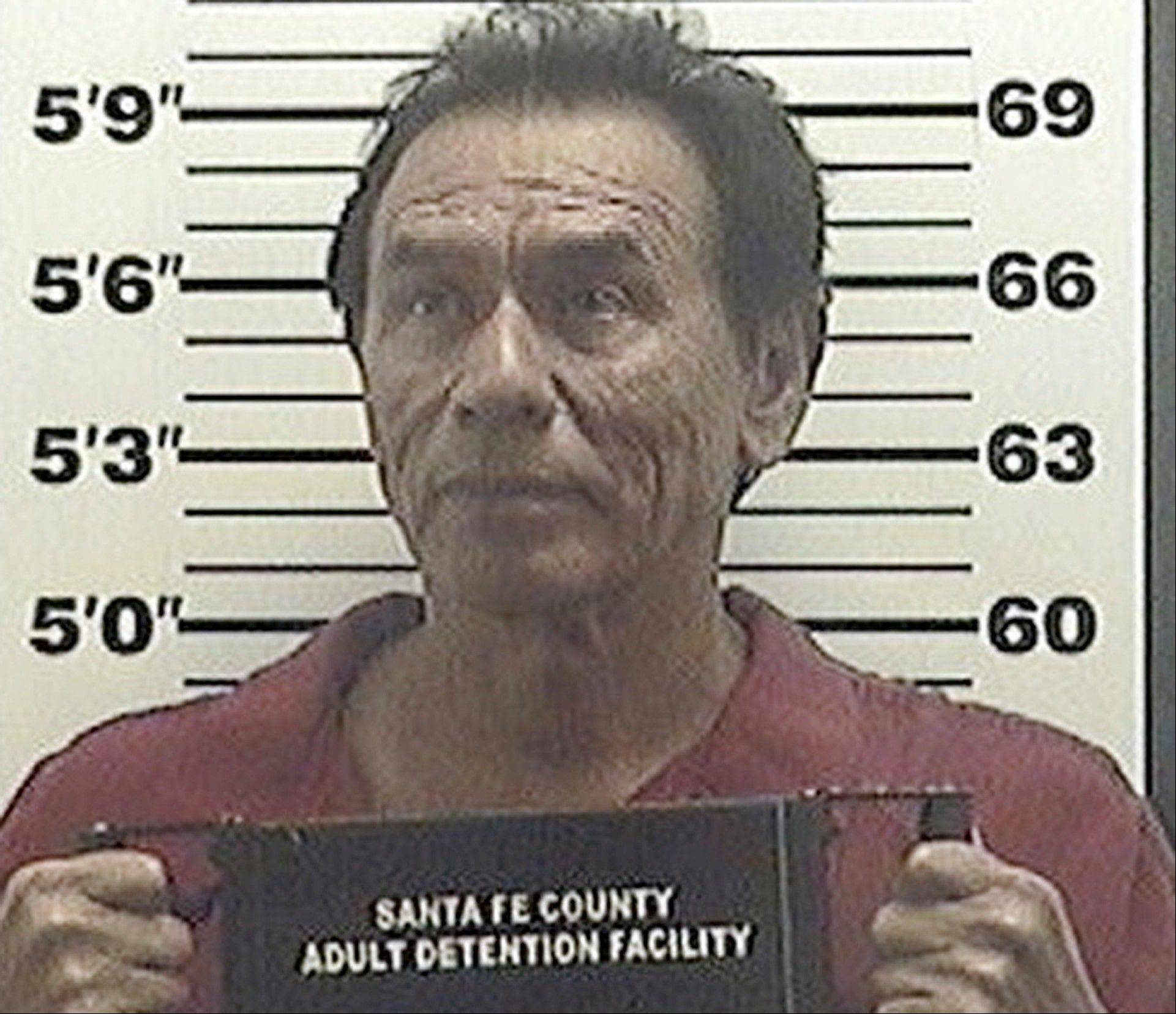 This July 26, 2013 booking photo, provided by the Santa Fe County Sheriff shows, actor Wes Studi following his arrest on a aggravated drunken driving charge.