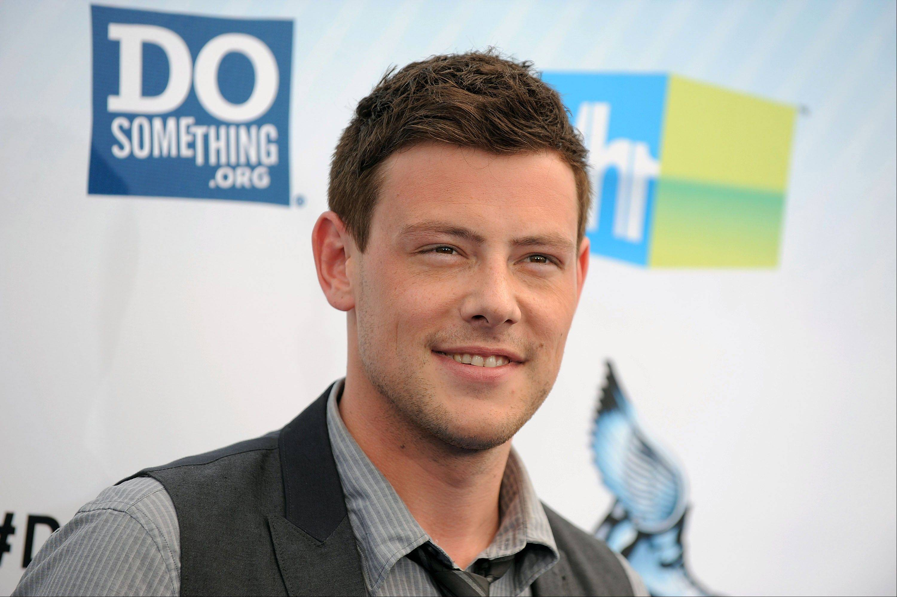 "The cast and crew of ""Glee"" is saying goodbye to star Cory Monteith, who died earlier this month."