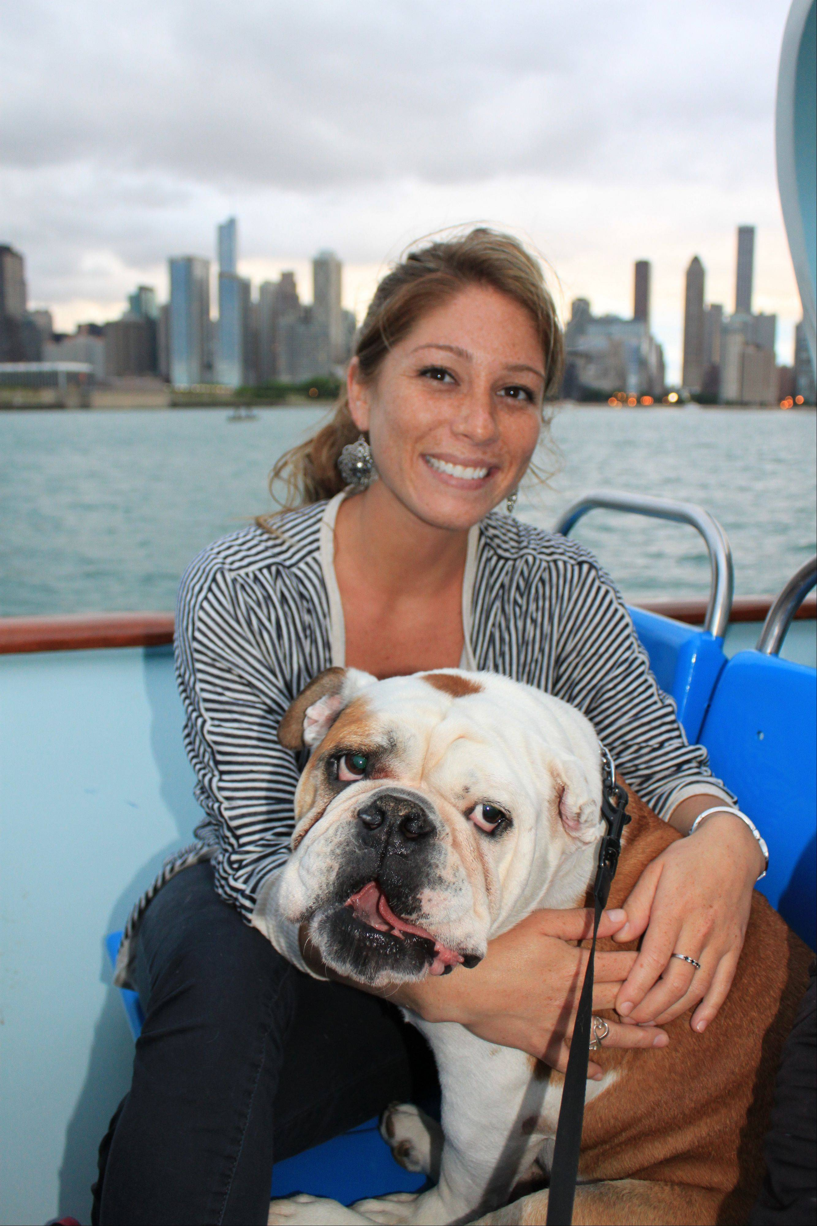 Dogs and their owners can enjoy Lake Michigan and the Chicago River on the Mercury Skyline Cruiseline's Chicago Canine Cruise.