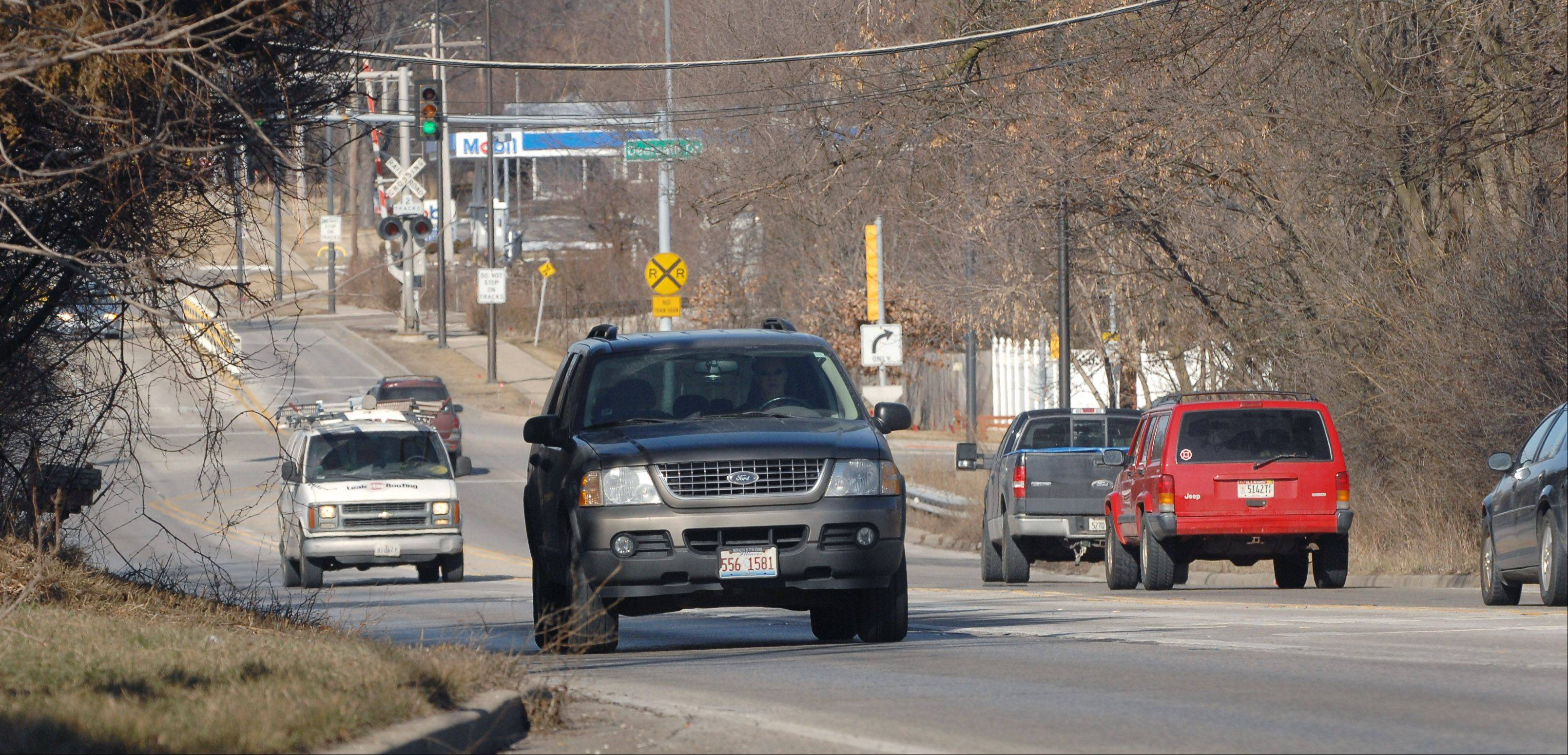 Starting Monday, Route 45 between Mundelein and Lincolnshire will be resurfaced. A $74 million project to widen that stretch is at least five years away and likely longer.