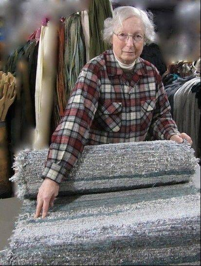 Estelle Serena, a functional fabric artist who makes hand-woven rugs, will be one of the artists at this year's Geneva Arts Fair. The show runs 10 a.m. to 5 p.m. Saturday and Sunday, July 27-28.