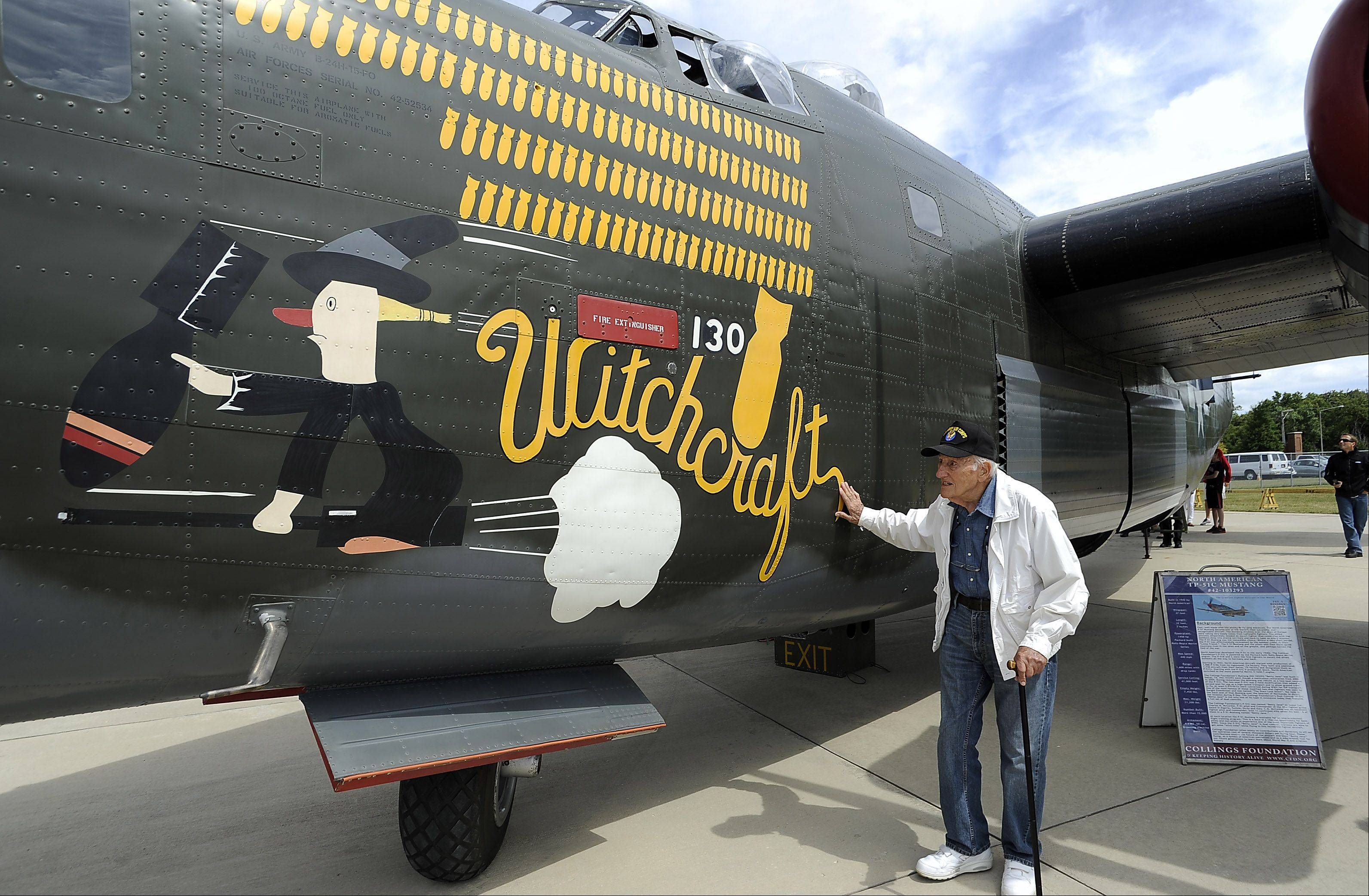 Vintage World War II 'warbirds' land in Wheeling