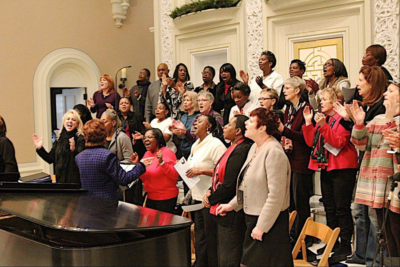 Vocalists from Chicago-based Harmony, Hope & Healing will perform at a fundraising concert for Family Service of the Barrington Area on Aug. 18.