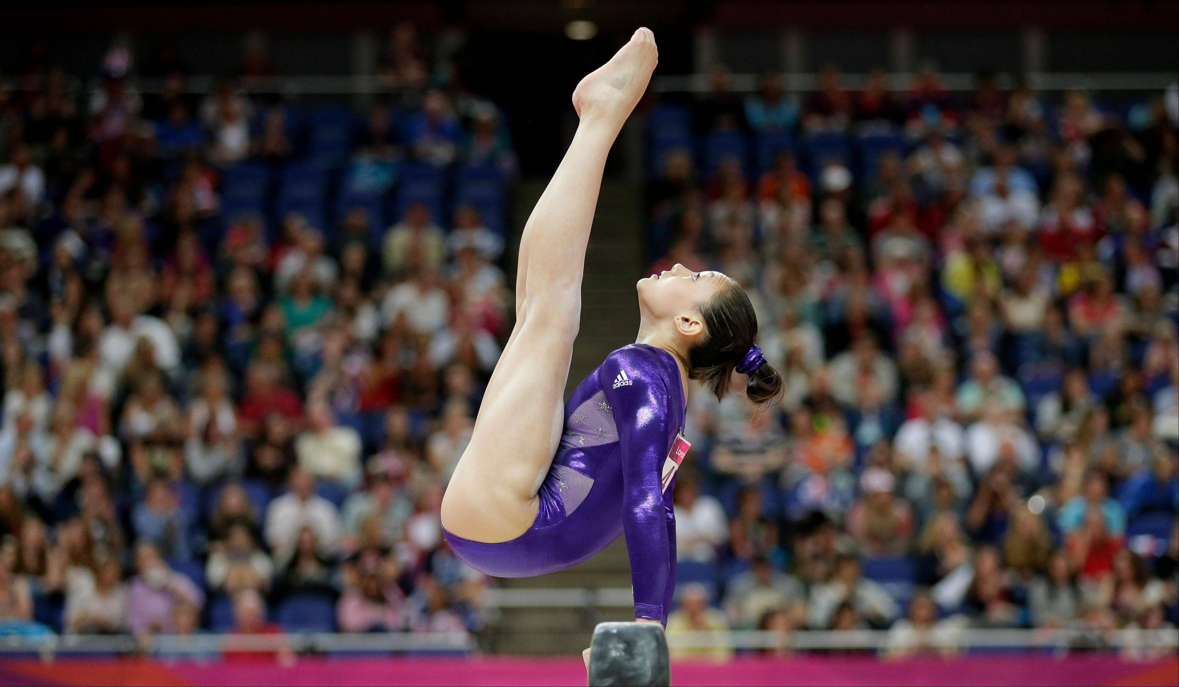 U.S. gymnast Kyla Ross will compete at the 2013 Secret U.S. Classic at the Sears Centre Arena in Hoffman Estates on Saturday, July 27.