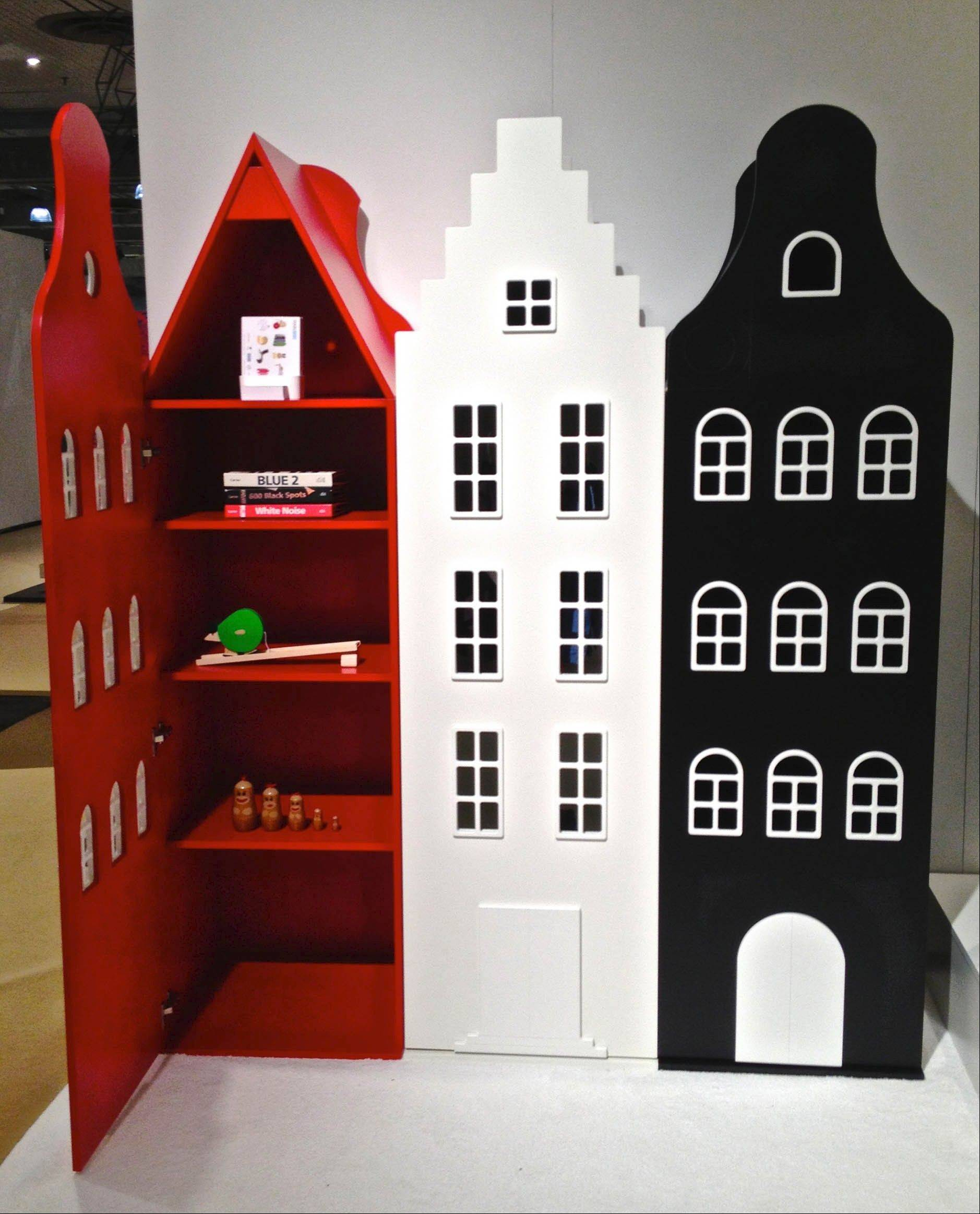 Cool Kids Company townhouse storage lockers.