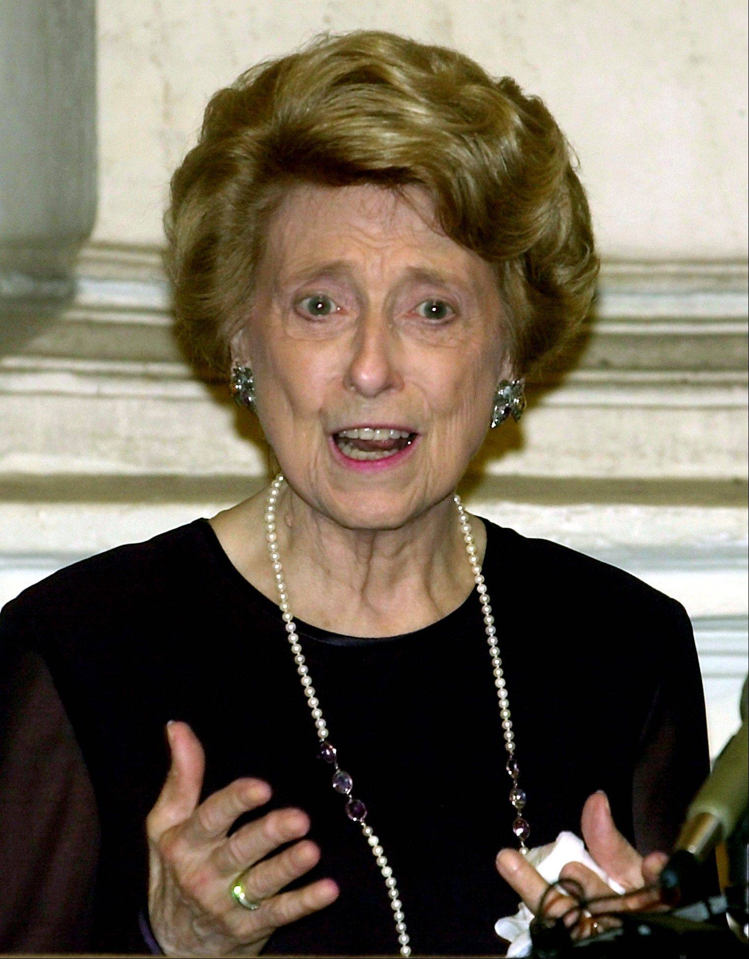 U.S. ambassador to the Holy See Lindy Boggs