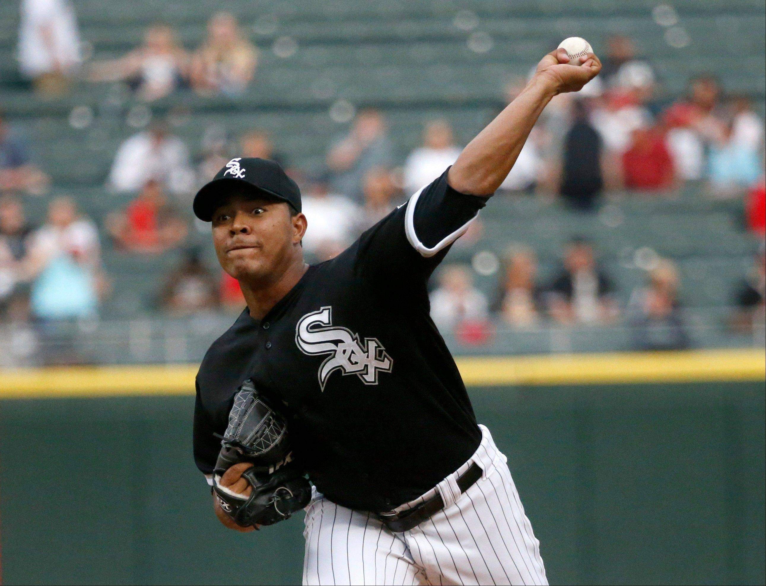 Associated Press Chicago White Sox starting pitcher Jose Quintana delivers during the first inning of a baseball game against the Kansas City Royals, Friday, July 26, 2013, in Chicago.
