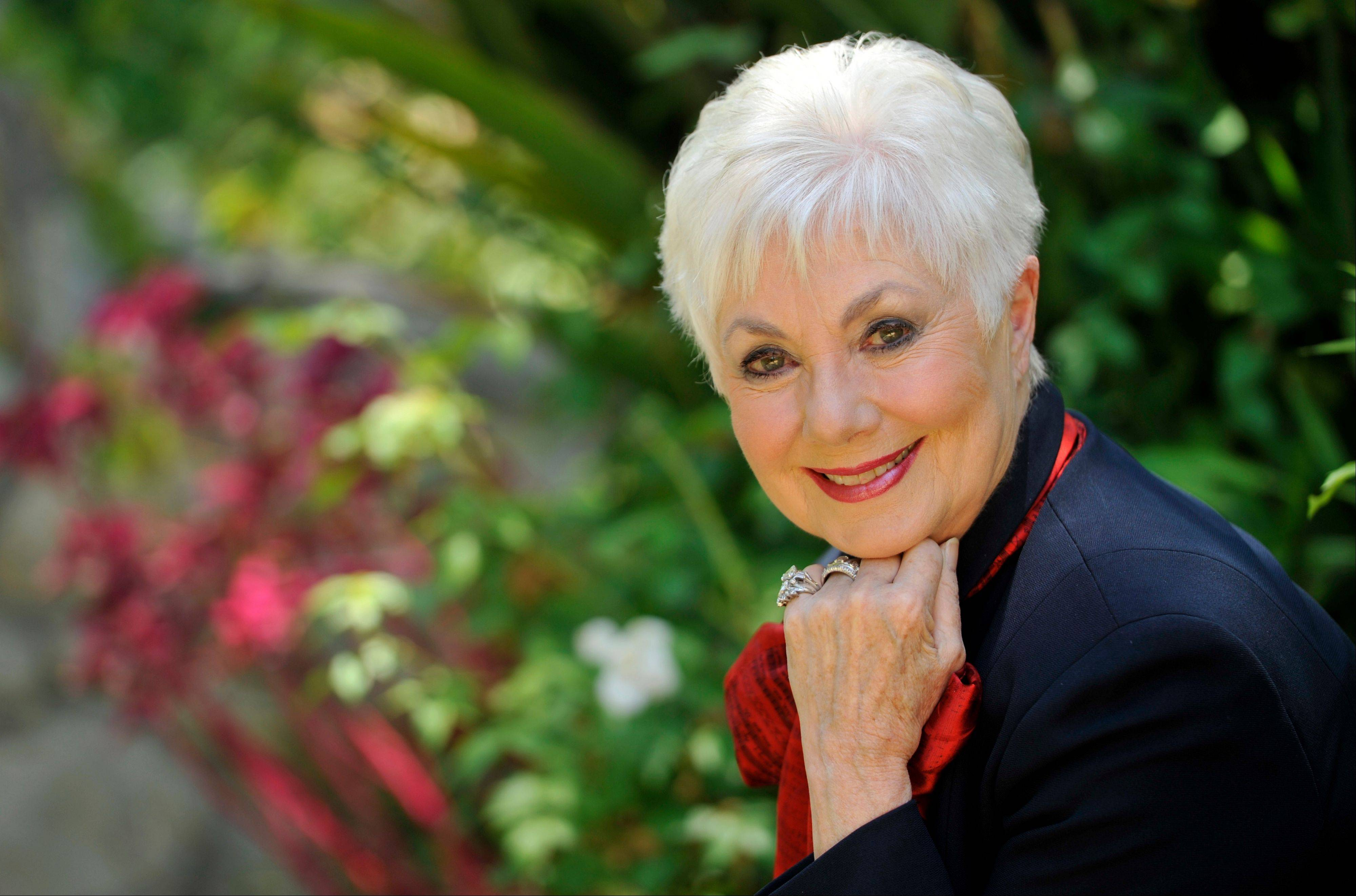 Actress Shirley Jones has released her new autobiography.