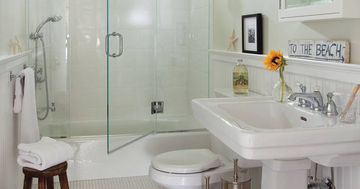 Six design choices for an easy-to-clean bathroom