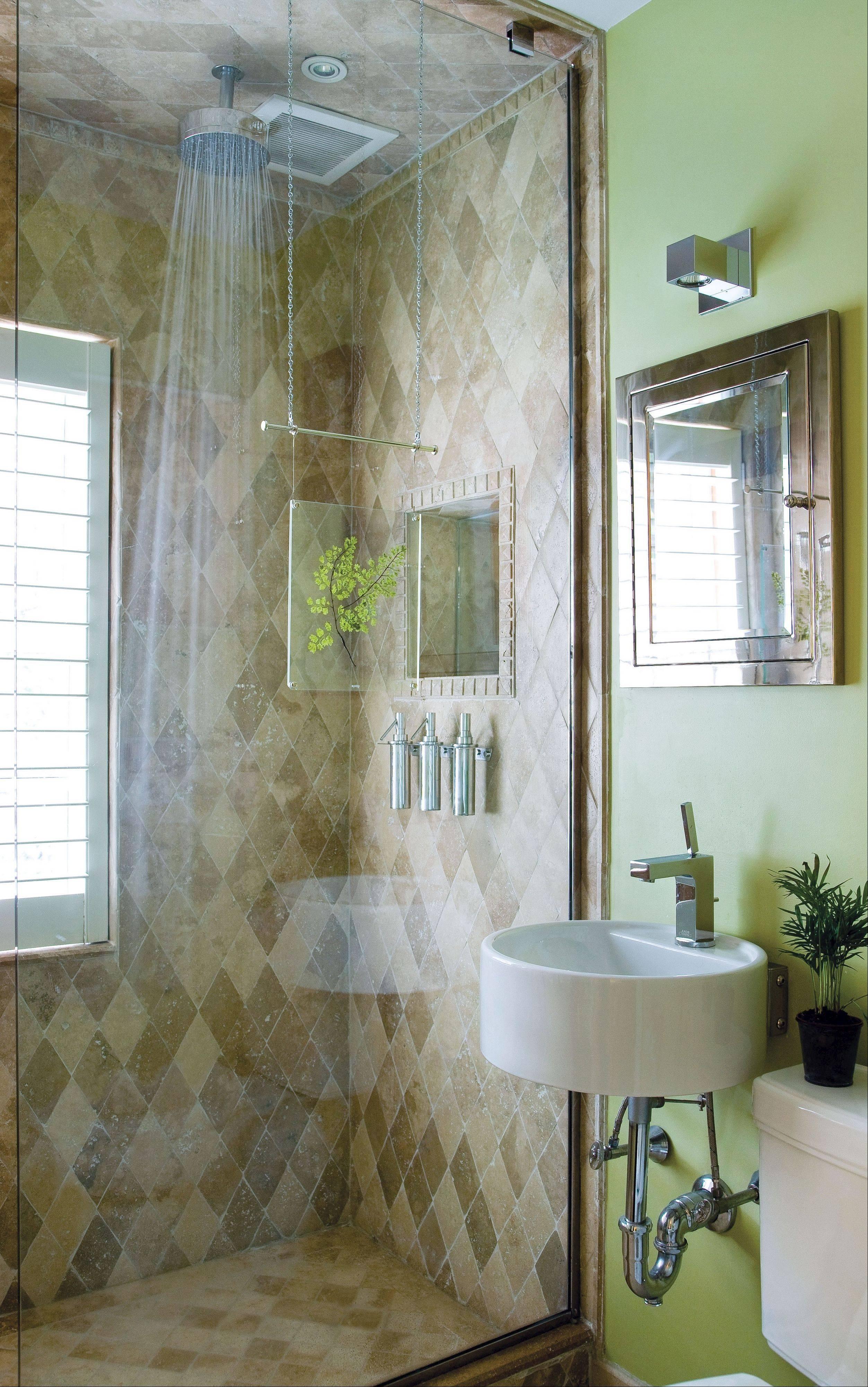 Six design choices for an easytoclean bathroom