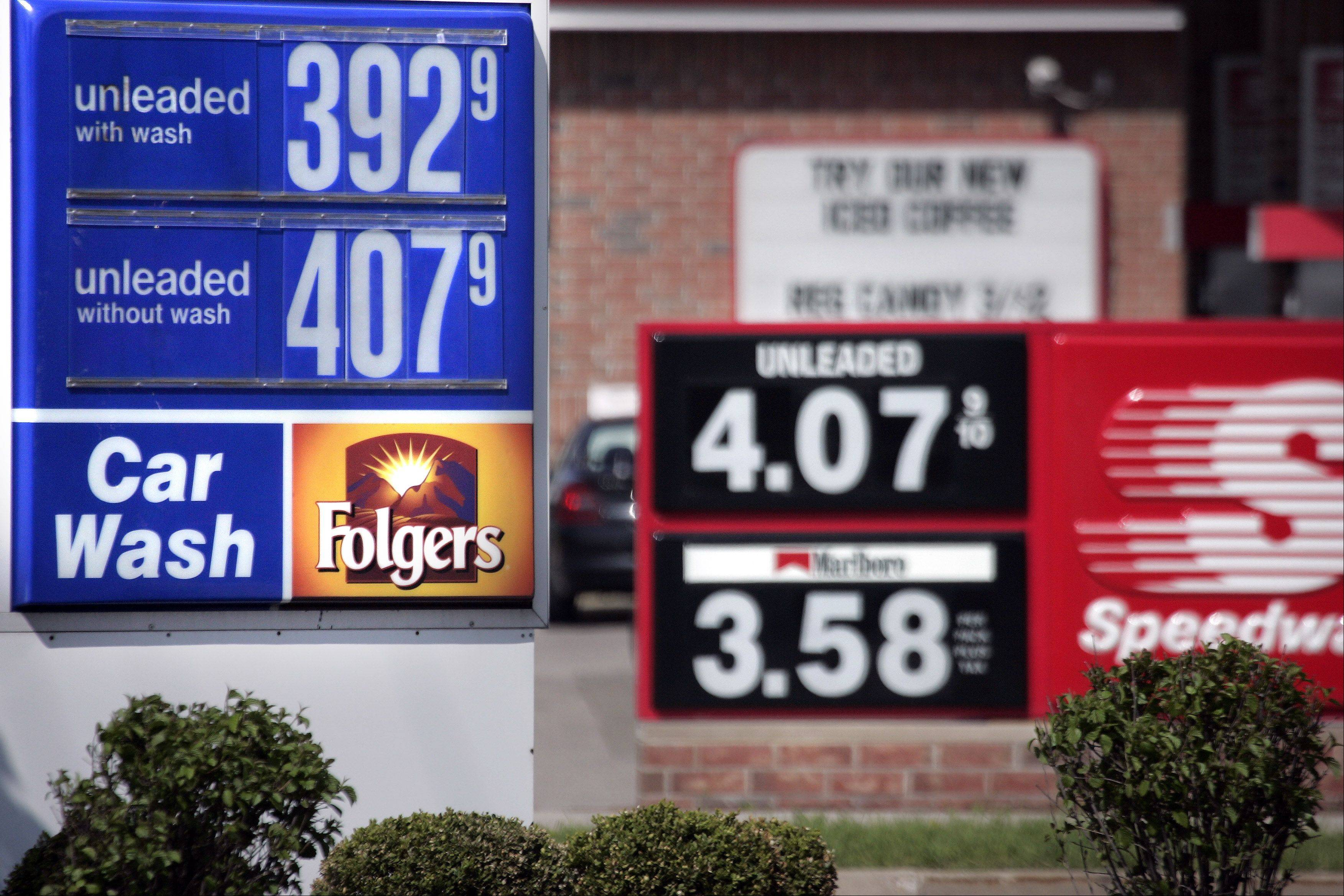 The average U.S. price of a gallon of gasoline has jumped eight cents over the past two weeks. The Lundberg Survey of fuel prices released Sunday says the price of a gallon of regular is $3.67. Midgrade costs an average of $3.85 a gallon, and premium is $3.99.