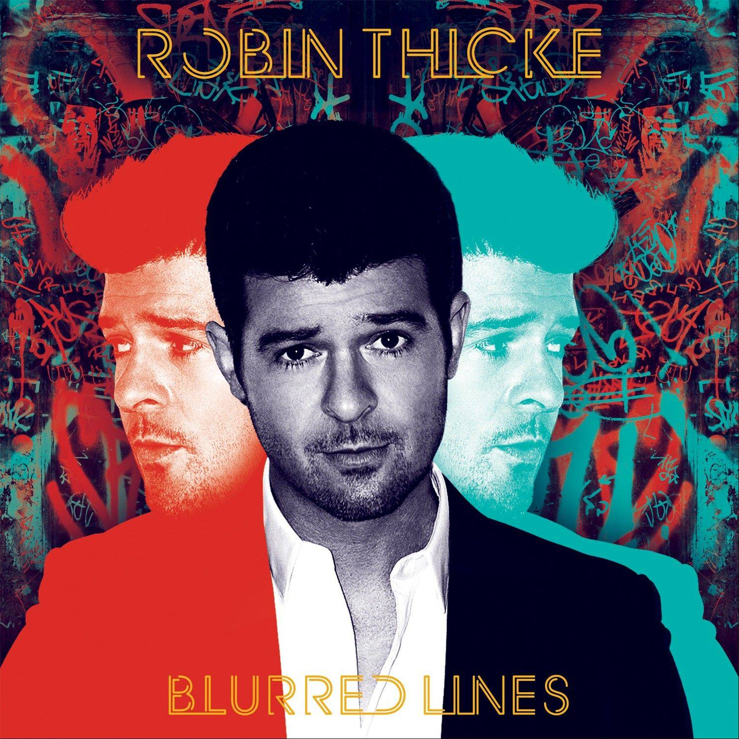 """Blurred Lines"" by Robin Thicke"