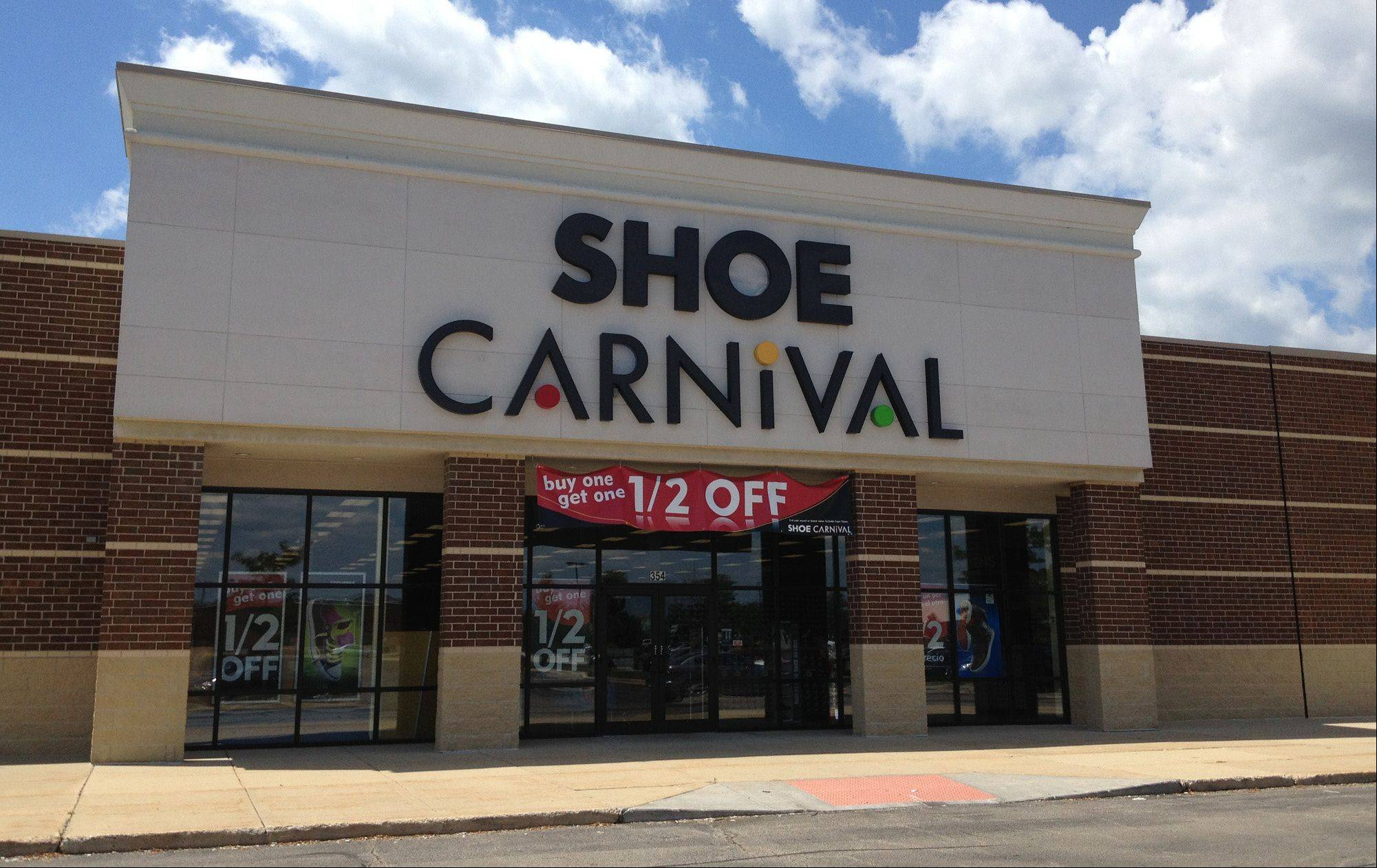 Two new Shoe Carnival stores opened in the Chicago area in late July, including one on Randall Road in South Elgin.