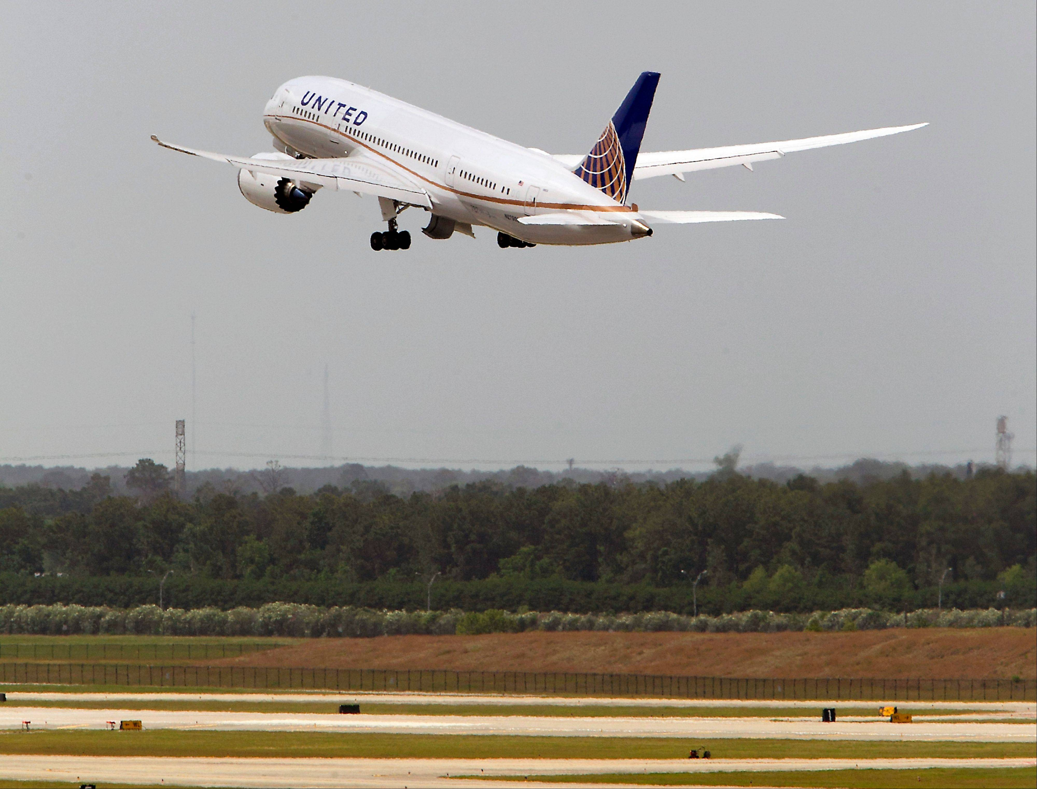 Chicago-based Boeing Co. has asked airlines to inspect emergency beacons on a range of planes after ANA Holdings Inc. and United Airlines found faults in devices on 787s linked to a fire in a parked Dreamliner.