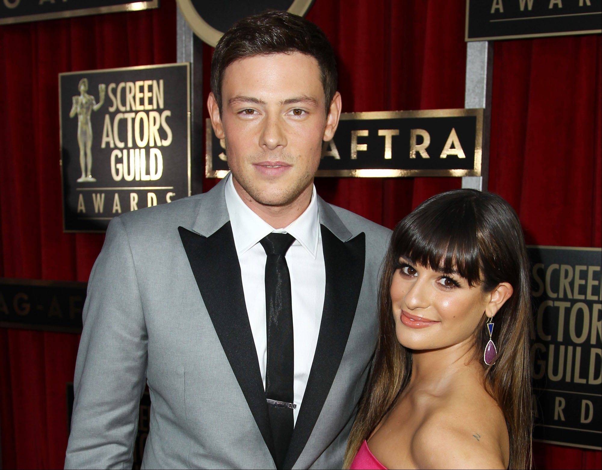 "Lea Michele is breaking her silence online after her ""Glee"" co-star and real-life boyfriend Cory Monteith died of an overdose earlier this month. The actress posted a photo of her and Monteith on Twitter Monday along with a message thanking her followers for ""helping me through this time with your enormous love & support."""