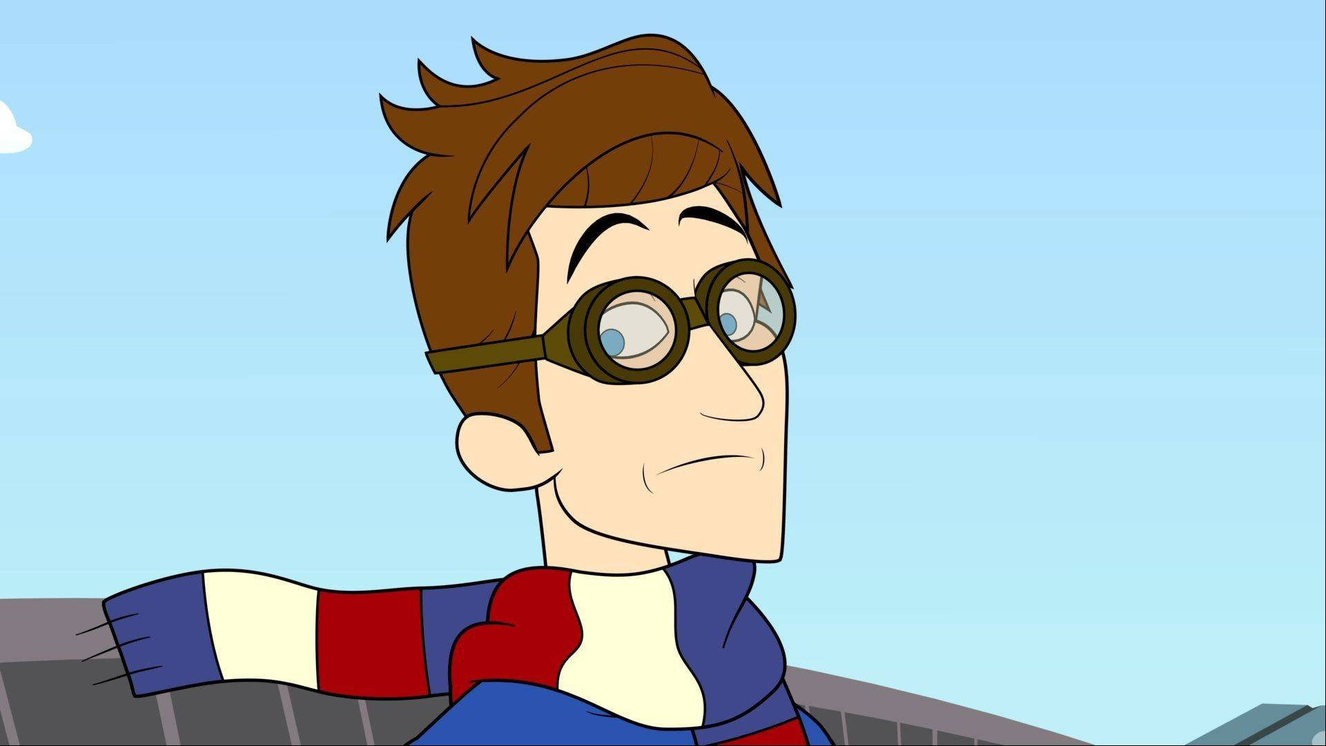 "The character Prock, voiced by Seth Meyers, from the animated series ""The Awesomes."""