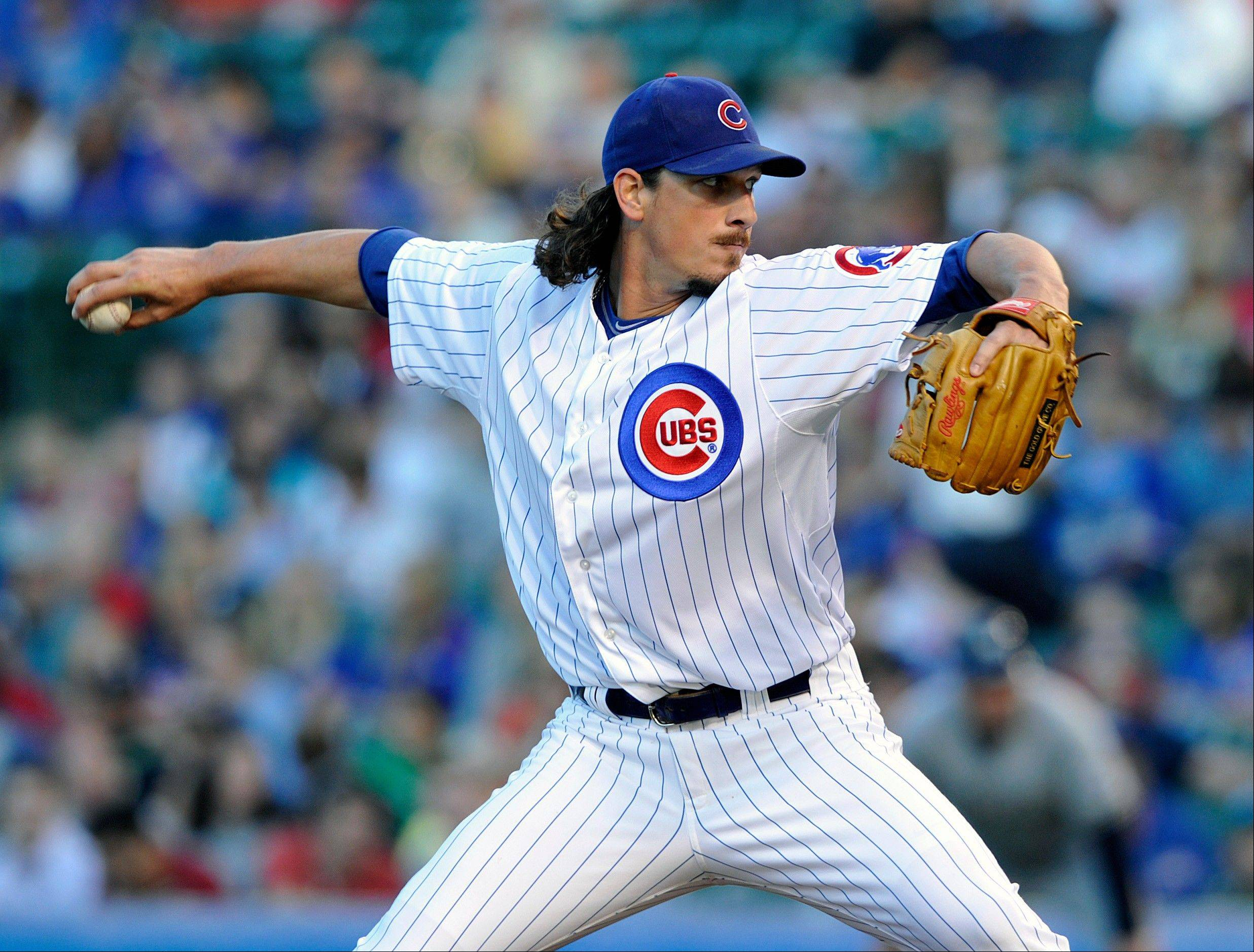 Cubs starting pitcher Jeff Samardzija, who worked 7 shutout innings in a no-decision Monday night against the Brewers, says he likes the makeup of this year's team.