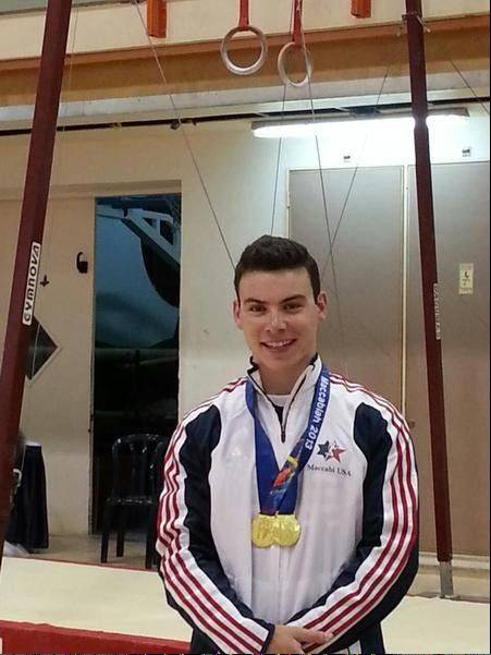 Stevenson graduate and current University of Illinois gymnast Mike Wilner won a pair of gold medals at the Maccabiah Games in Israel.