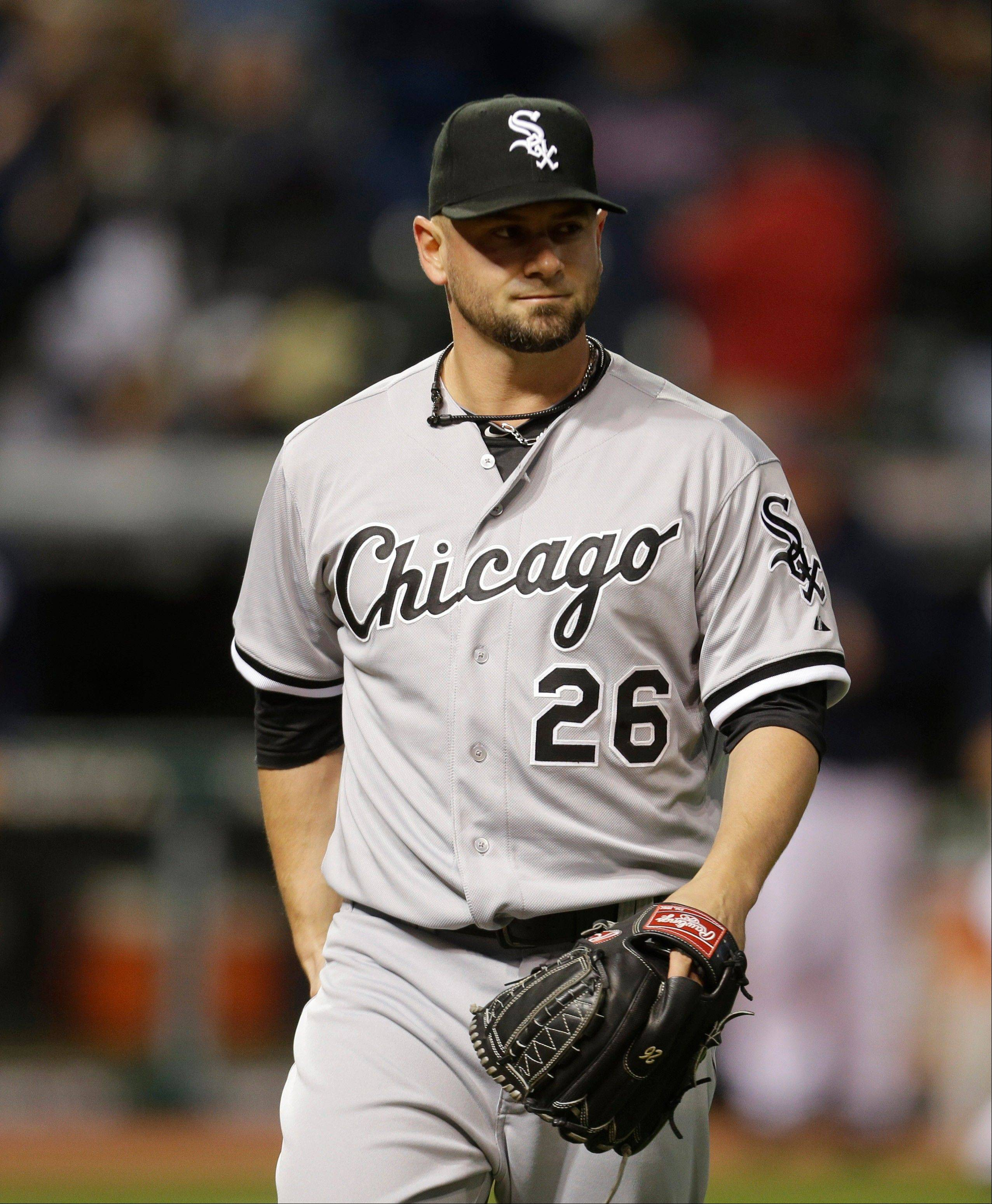 Chicago White Sox's Jesse Crain is now a member of the Tampa Bay Rays. The White Sox traded their all-star reliever, who set a team record this season by making 29 consecutive scoreless appearances.