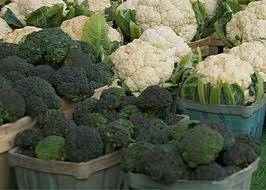 Broccoli and cauliflower are great vegetables to plant in the fall.
