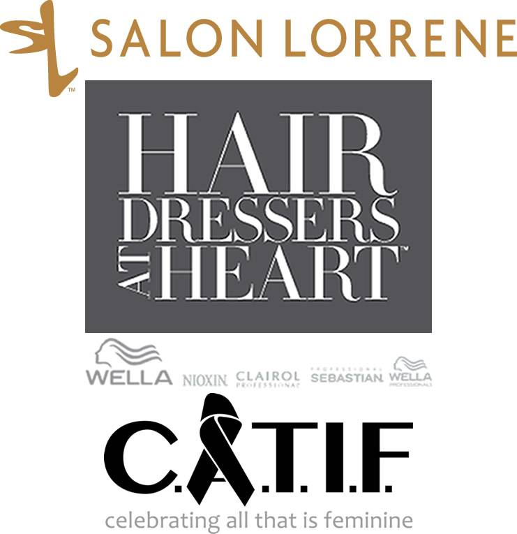 Salon Lorrene, Wins Wella Hair Dressers at Heart, Gives Winnings to C.A.T.I.F.