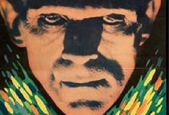 "A poster from the 1931 film ""Frankenstein"" that was stashed in the closet of an Illinois home for more than 30 years has sold at a Texas auction for a record amount."