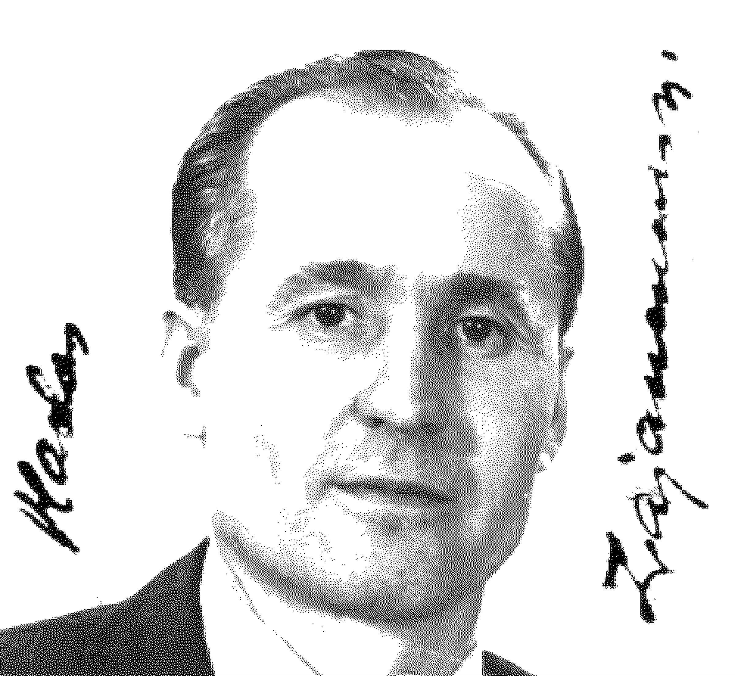 This 1956 photo from a naturalization document shows Vladas Zajanckauskas.