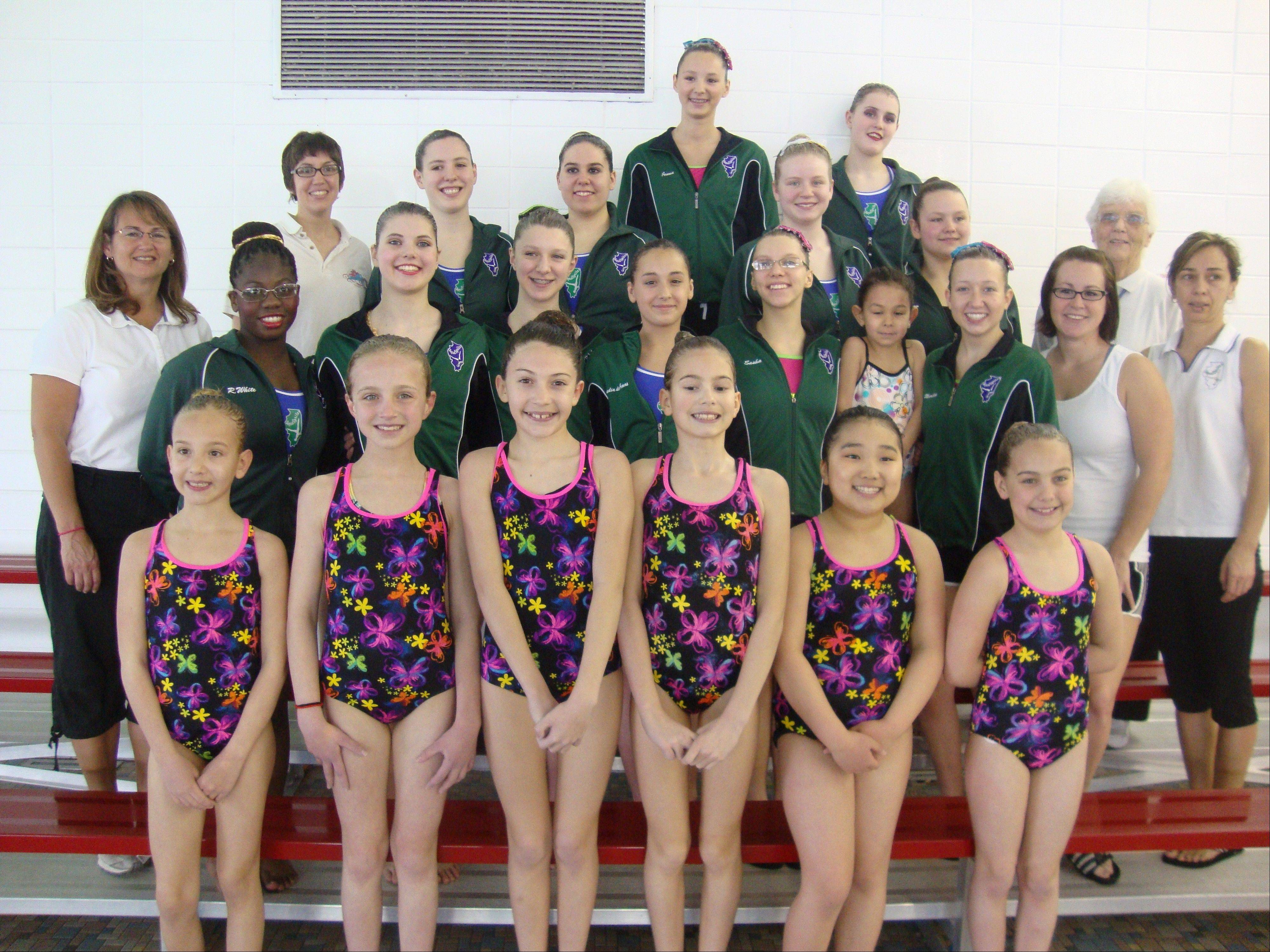 A synchronized swimming demonstration will be performed by the AquaSprites Youth & Masters Teams on Saturday, Aug. 10, at Lattof YMCA, in Des Plaines.
