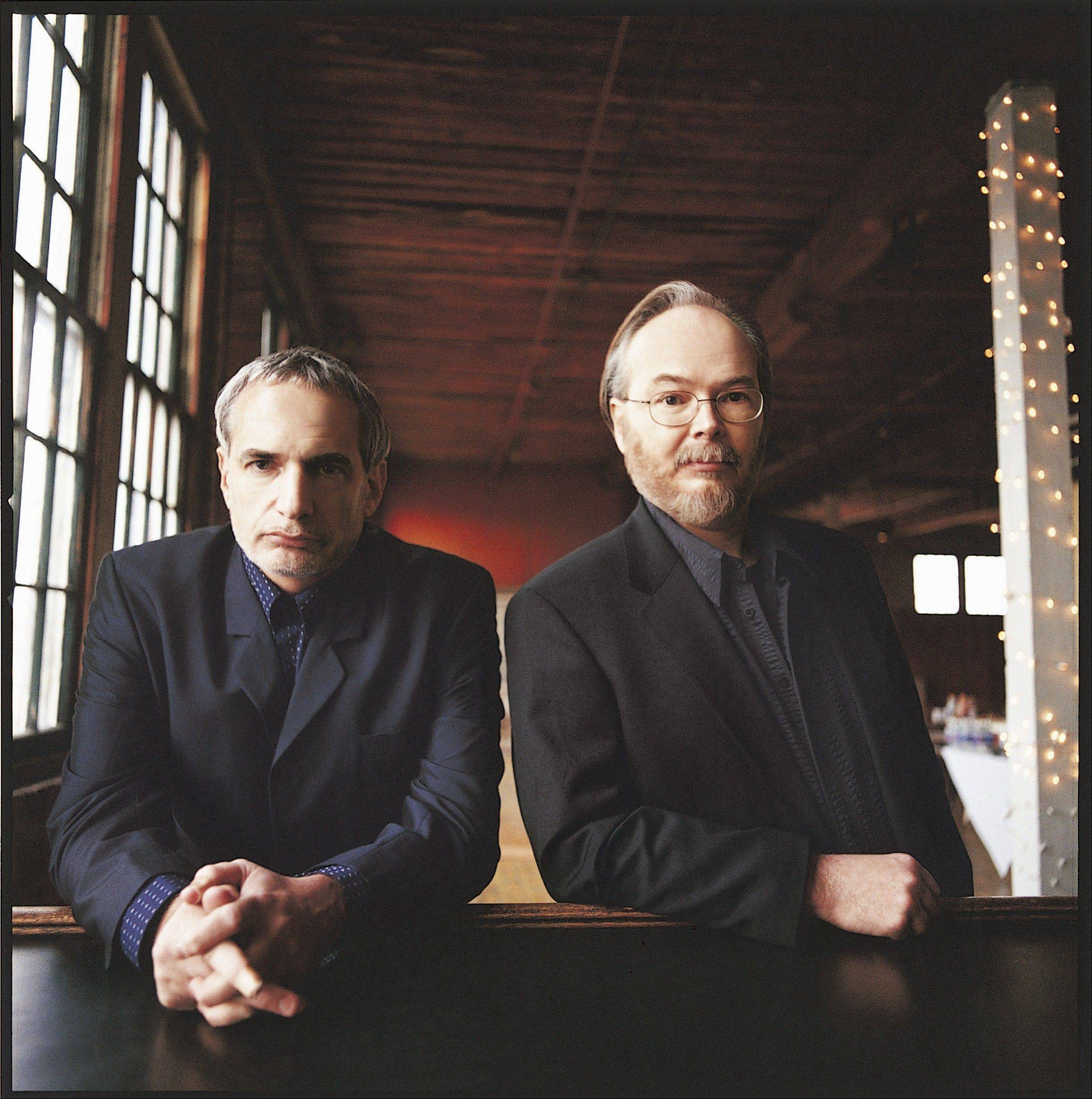 "Steely Dan — Walter Becker, left, and Donald Fagen — bring their ""Mood Swings Tour 2013: 8 Miles to Pancake Day"" concert to Ravinia Festival."