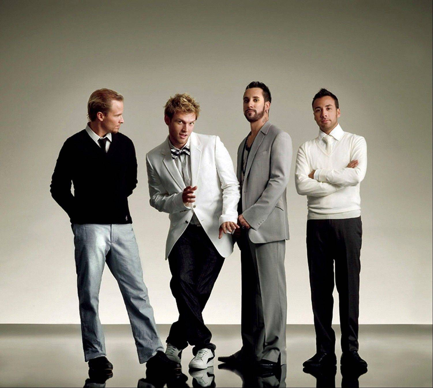 Backstreet Boys playsthe FirstMerit Bank Pavilion at Northerly Island this weekend.