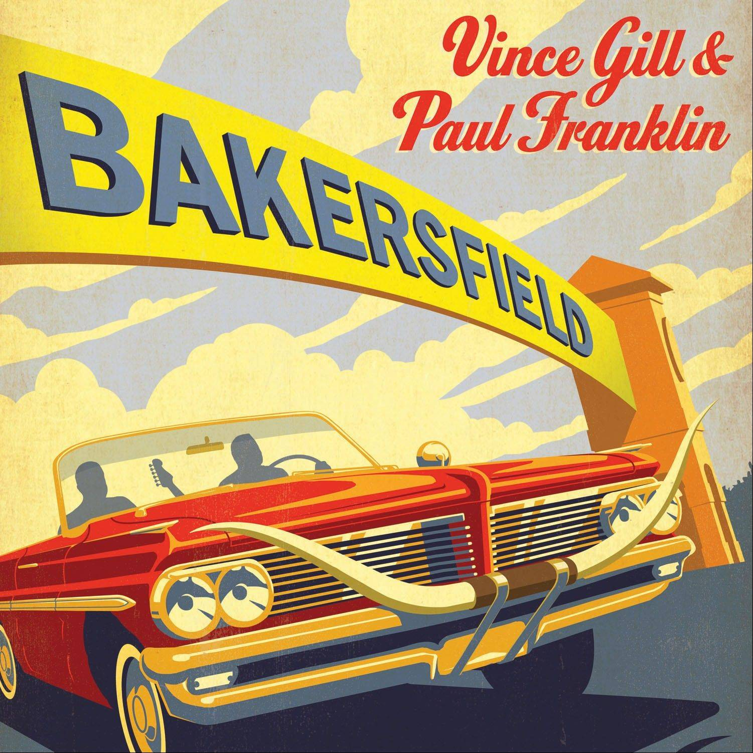 """Bakersfield"" by Vince Gill & Paul Franklin"