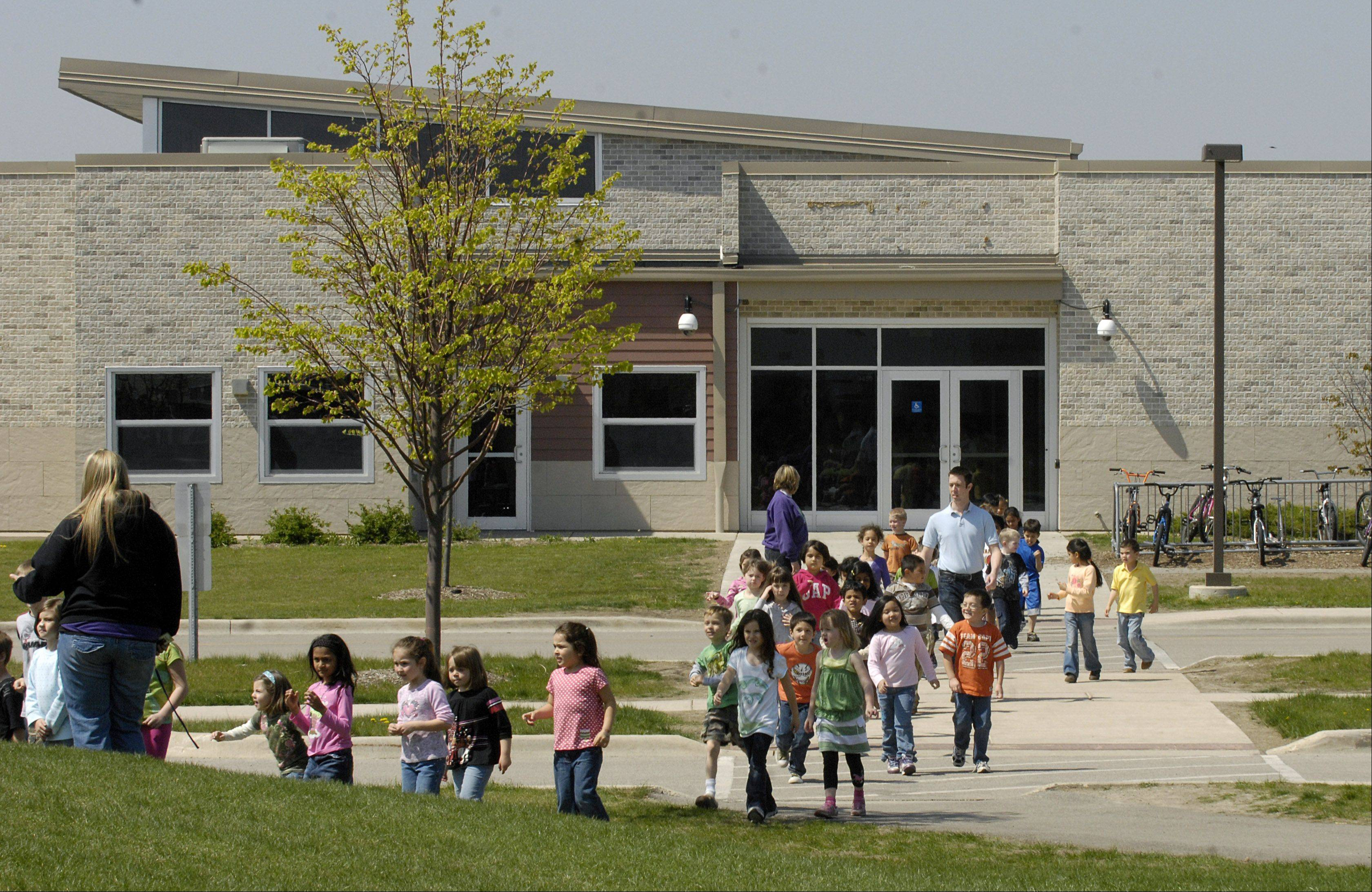 Cambridge Lakes Charter School in Pingree Grove has been told by the state to make it clear that membership fees, which violate state law, are voluntary.
