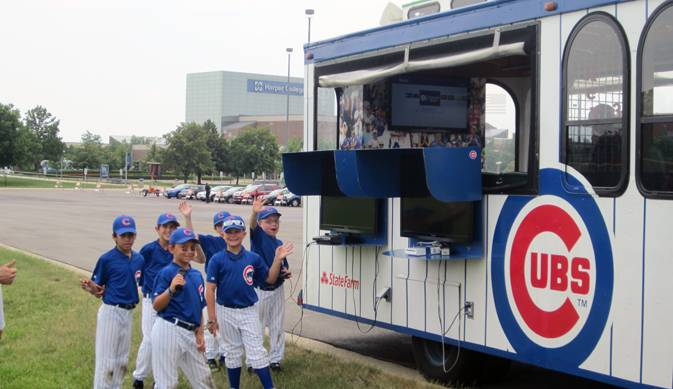 The Chicago Cubs baseball camp was just one of nearly 200 camps offered to kids ages 8-14.