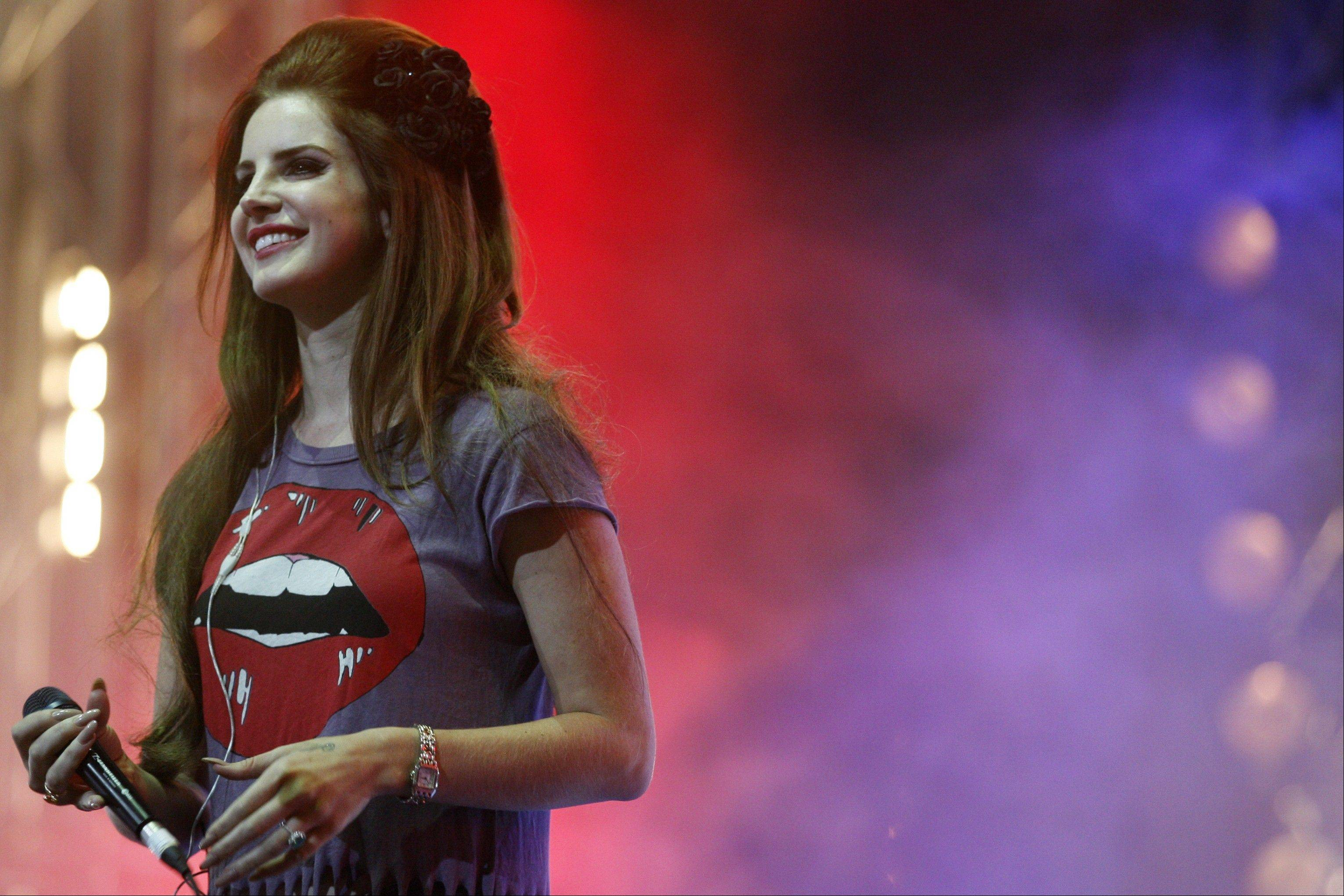 Singer Lana Del Rey will close out the first day of Lollapalooza festivities with a Friday night set.