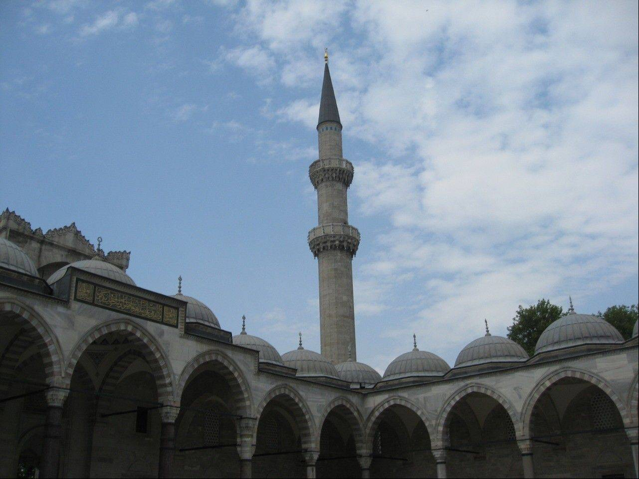U-46 teacher Chris LaRue traveled through Turkey this summer and created a lesson about sacred spaces like Suleymaniye Mosque, pictured here. Her advanced placement students will learn more about Turkey this year, thanks to her trip.